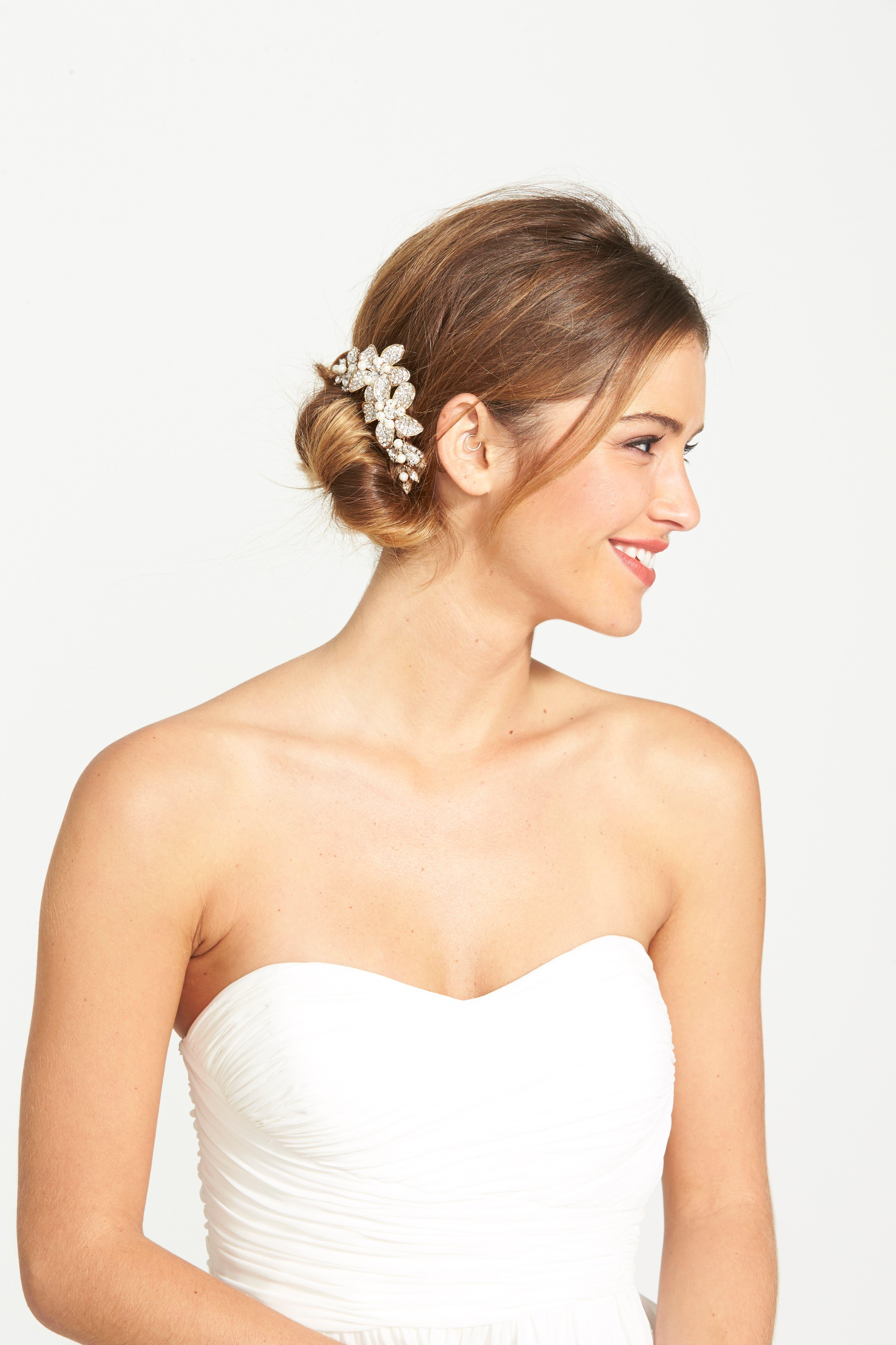Alternate Image 1 Selected - Wedding Belles New York Bead & Crystal Head Comb