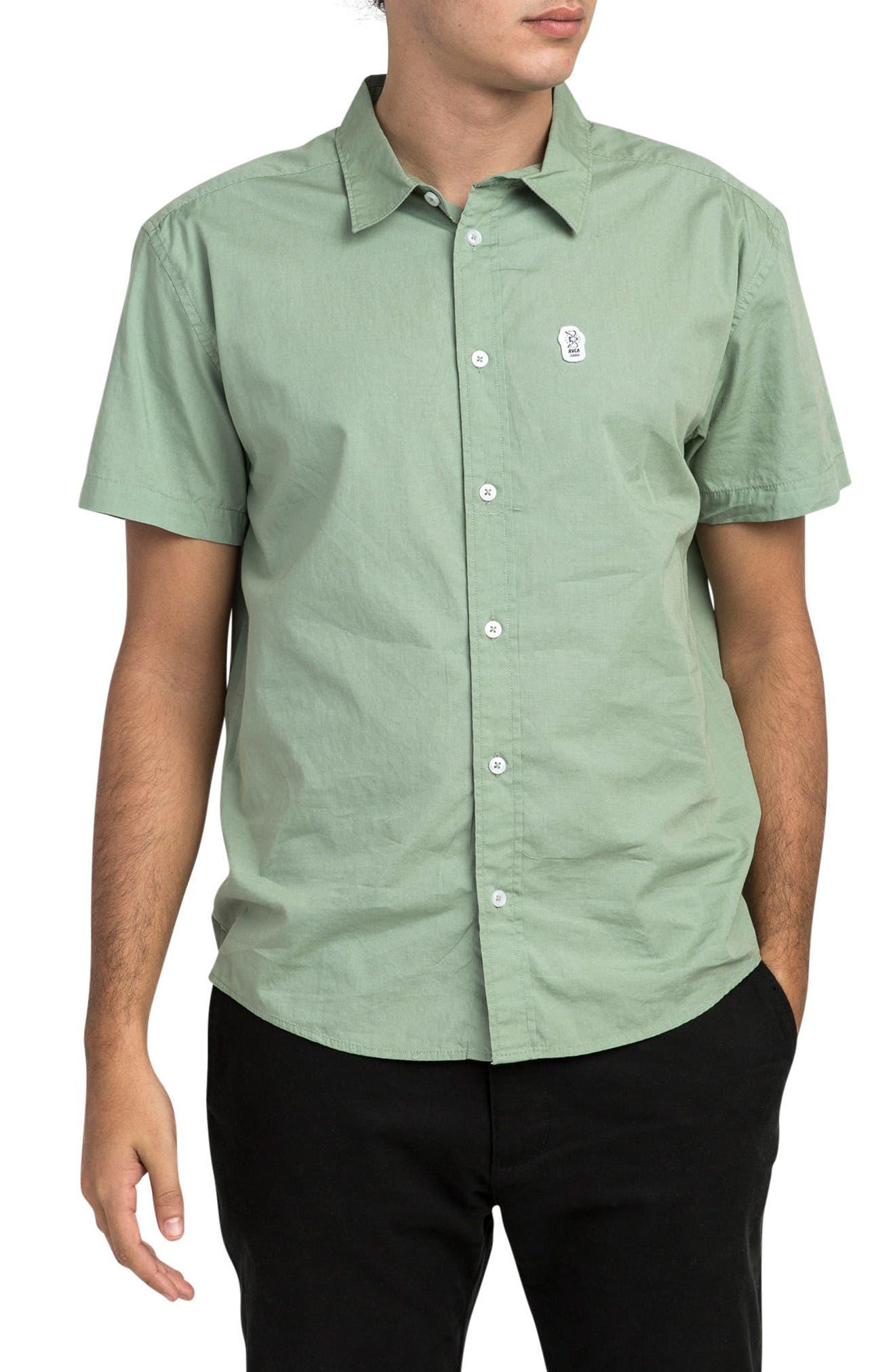 RVCA Stress Short Sleeve Shirt