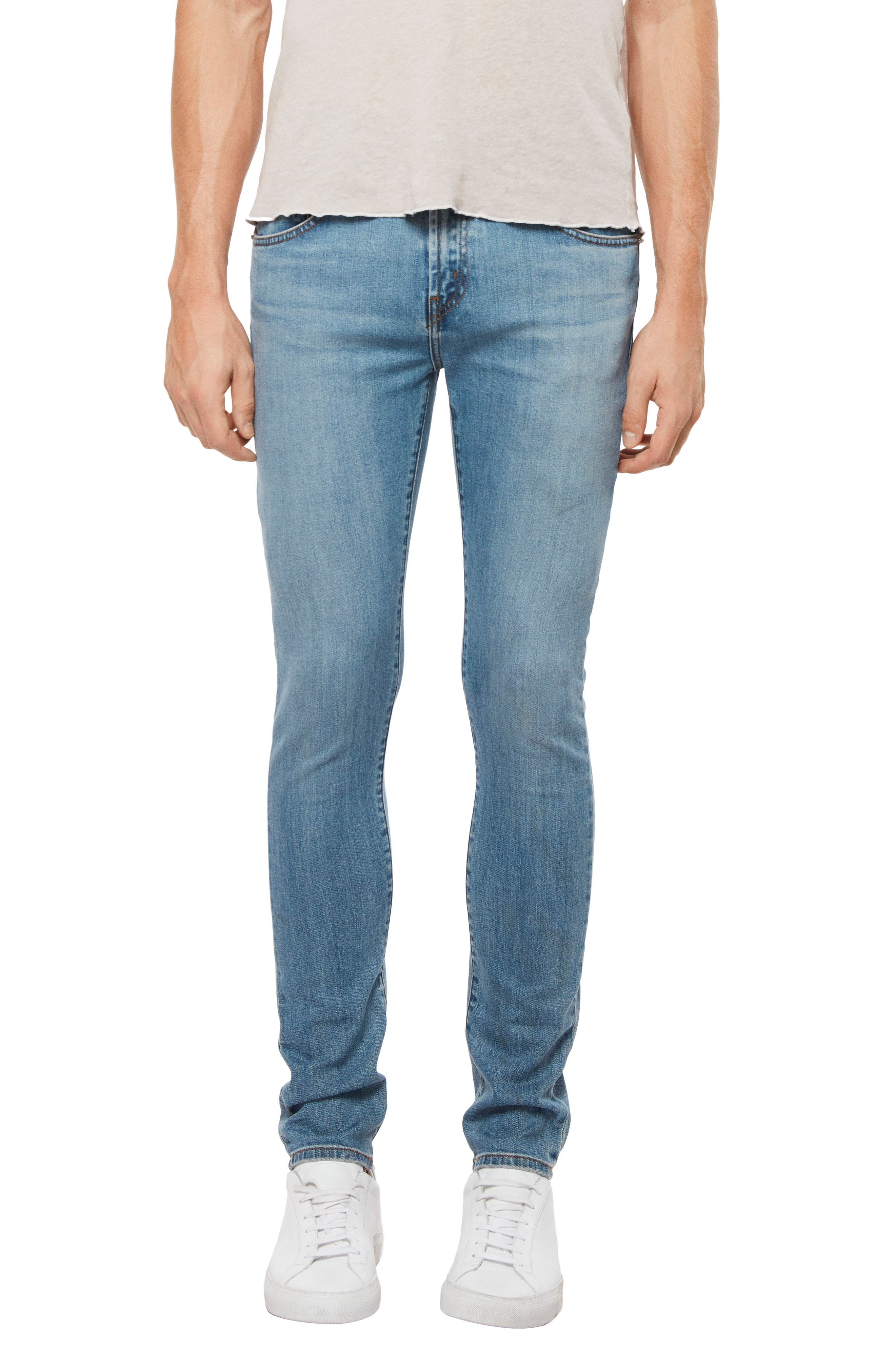 Skinny Fit Jeans,                             Main thumbnail 1, color,                             Stagon