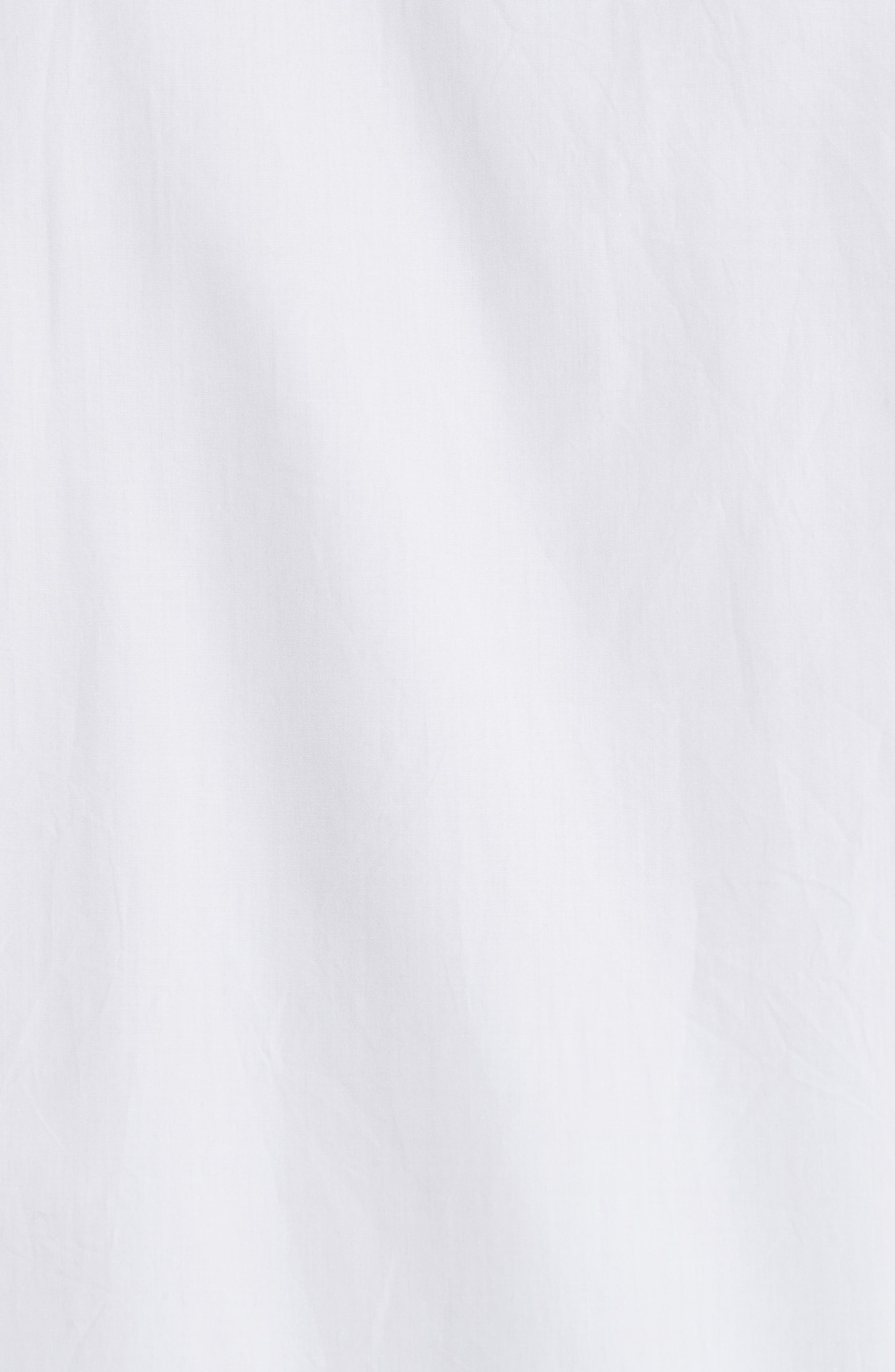 Woven Shirt,                             Alternate thumbnail 5, color,                             Off White