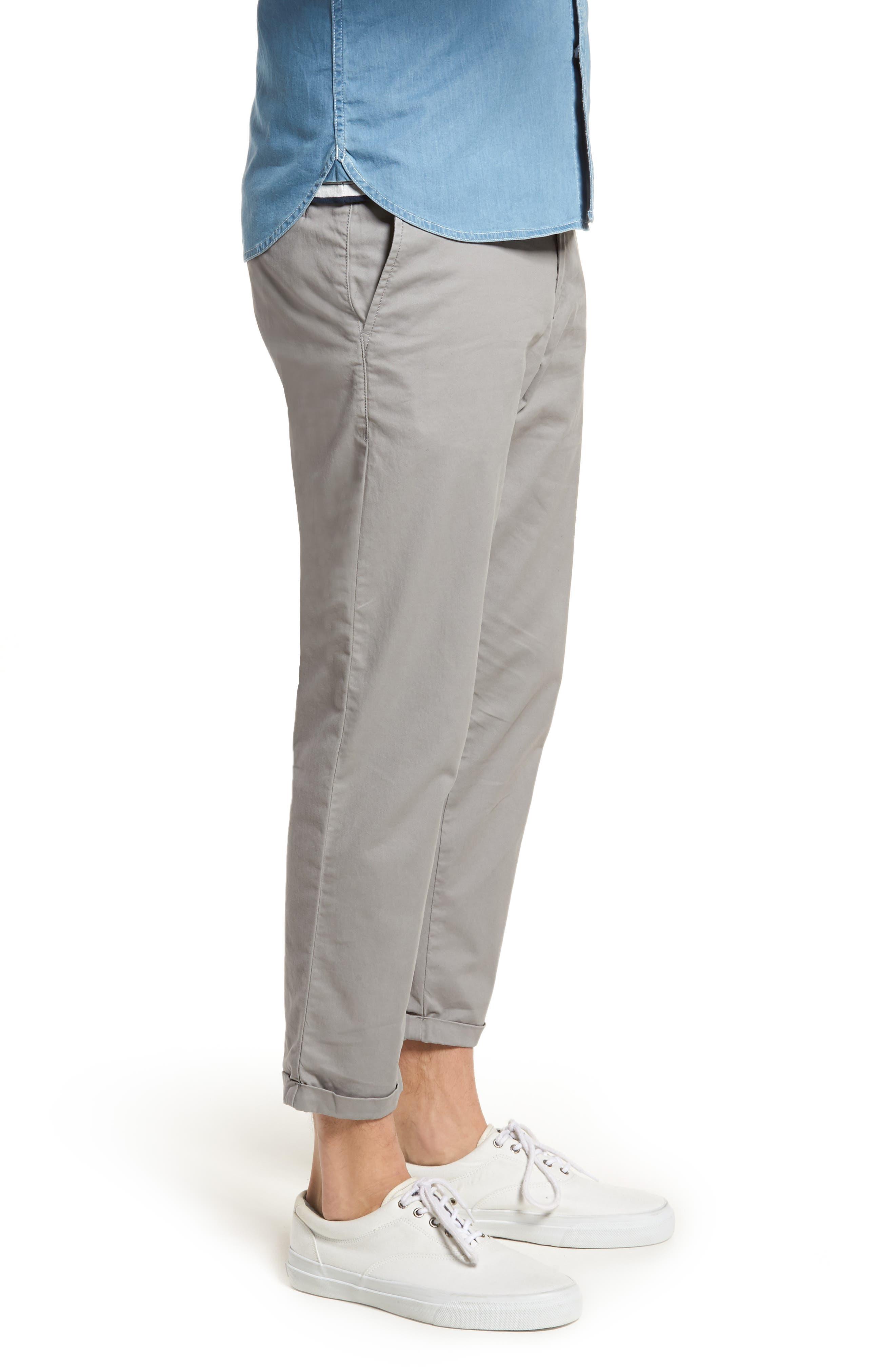 Alternate Image 3  - 1901 Crop Chino Pants