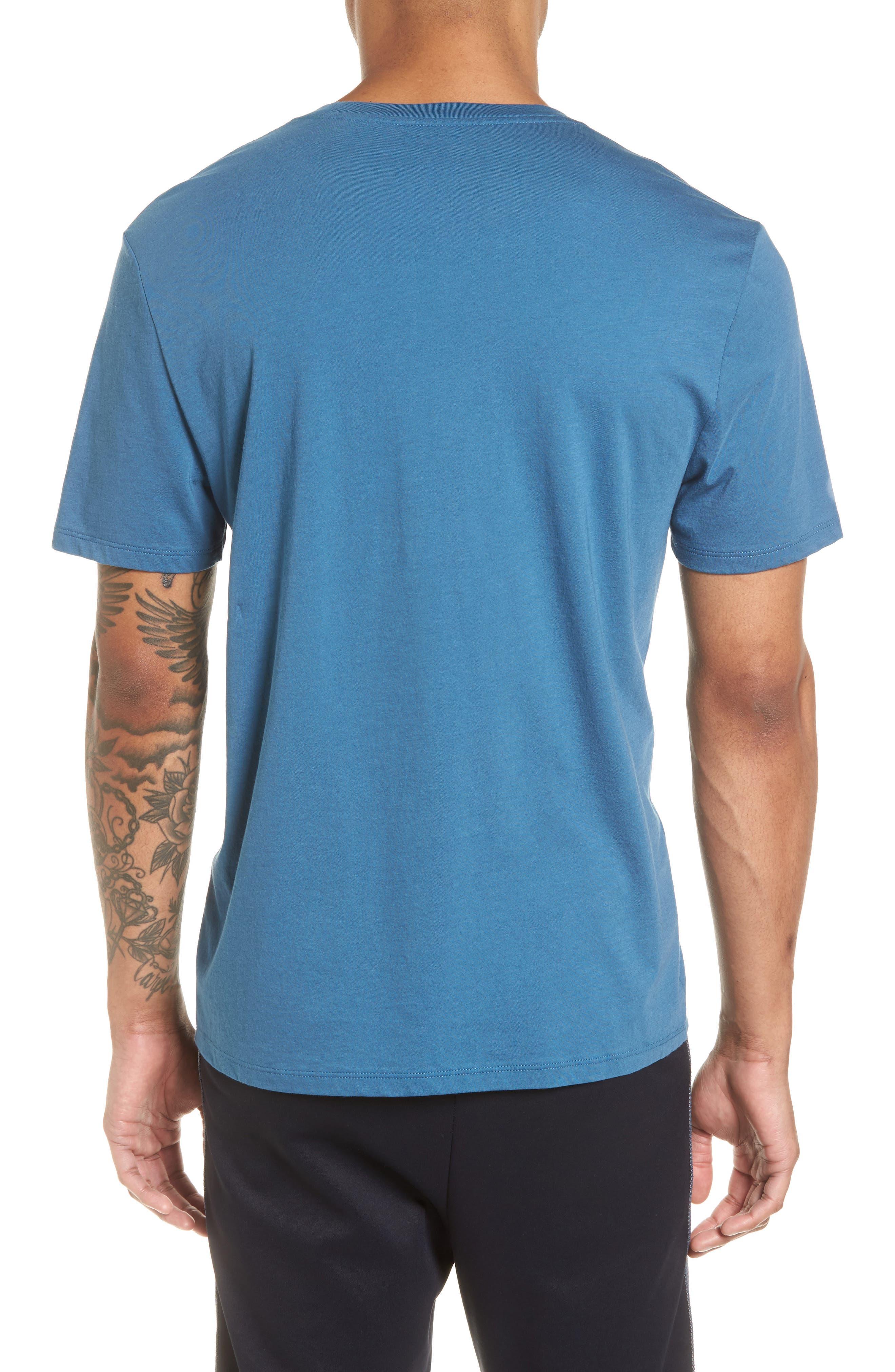 Slim Fit T-Shirt,                             Alternate thumbnail 2, color,                             Santorini