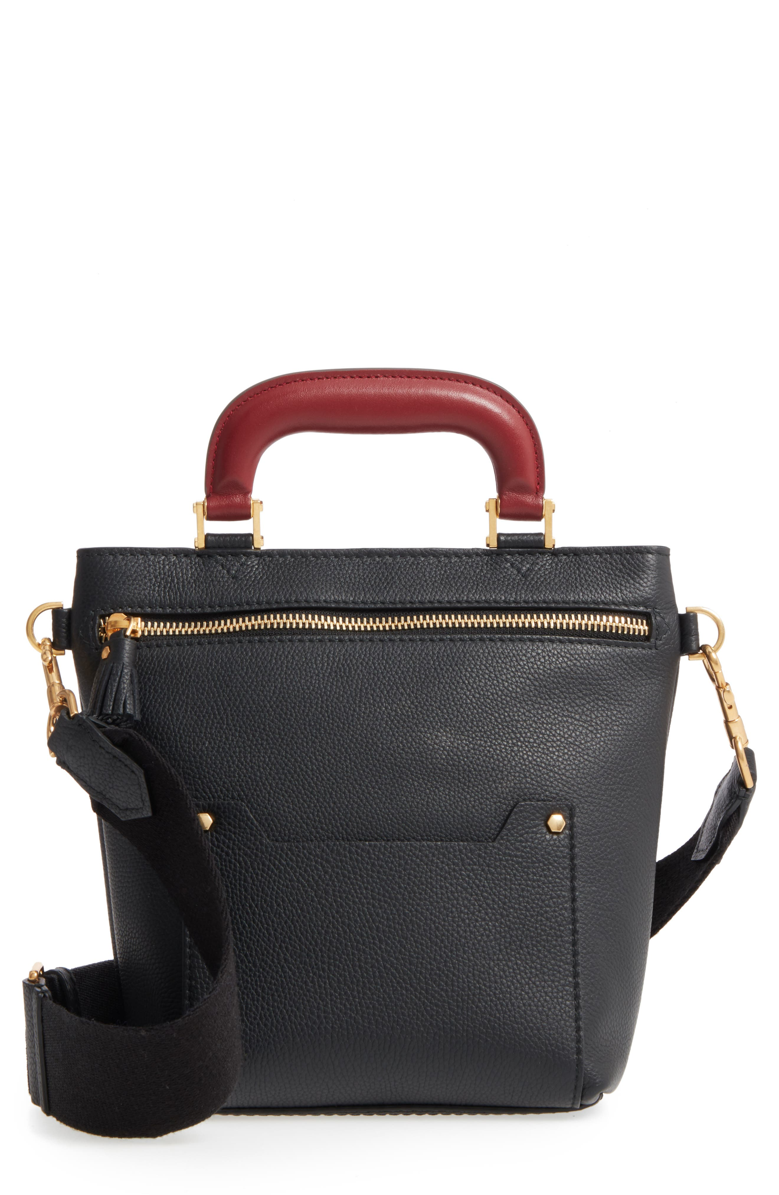 Anya Hindmarch Mini Orsett Leather Shoulder Bag