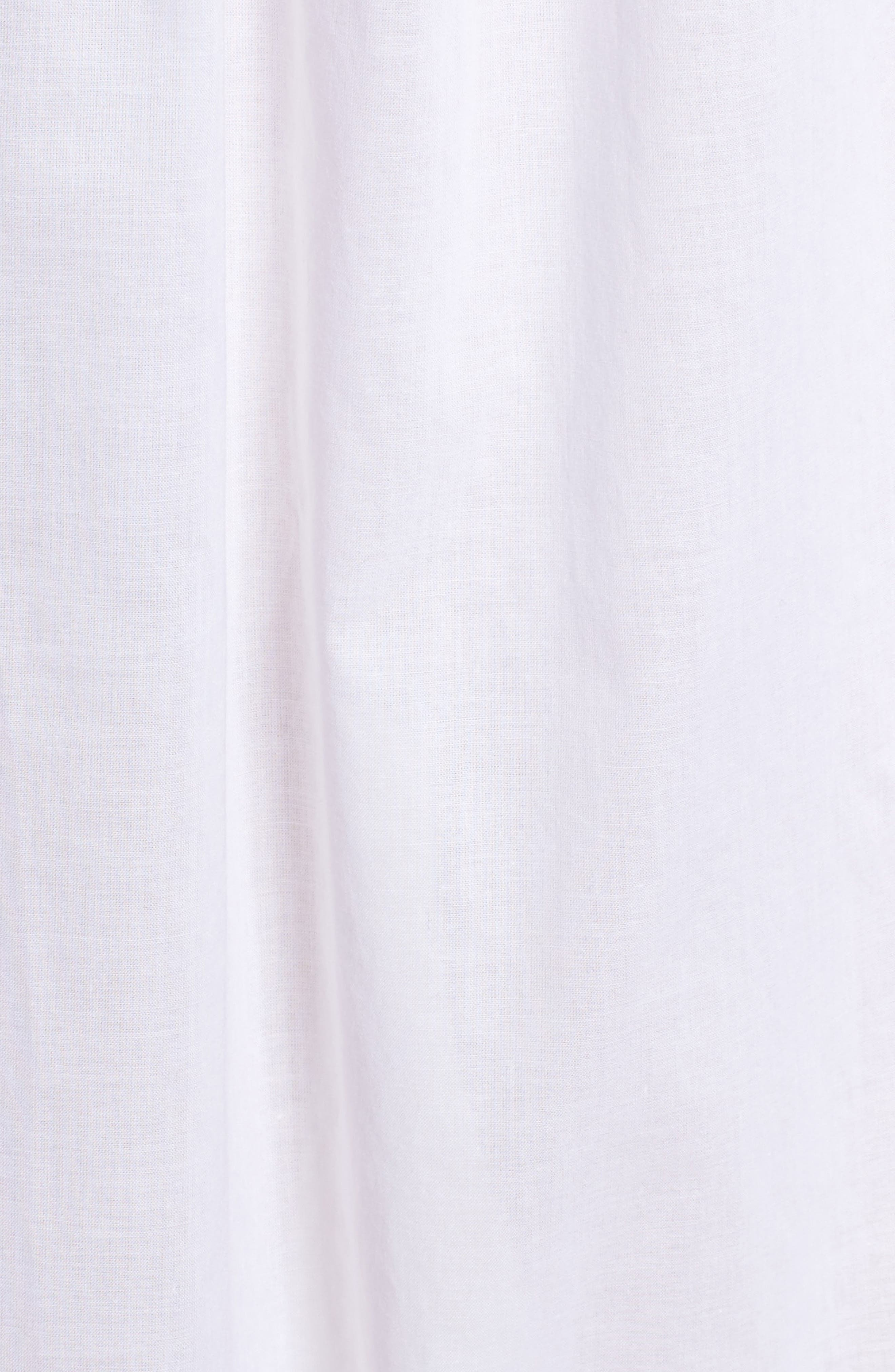 Cotton Lawn Ballet Nightgown,                             Alternate thumbnail 6, color,                             Solid White