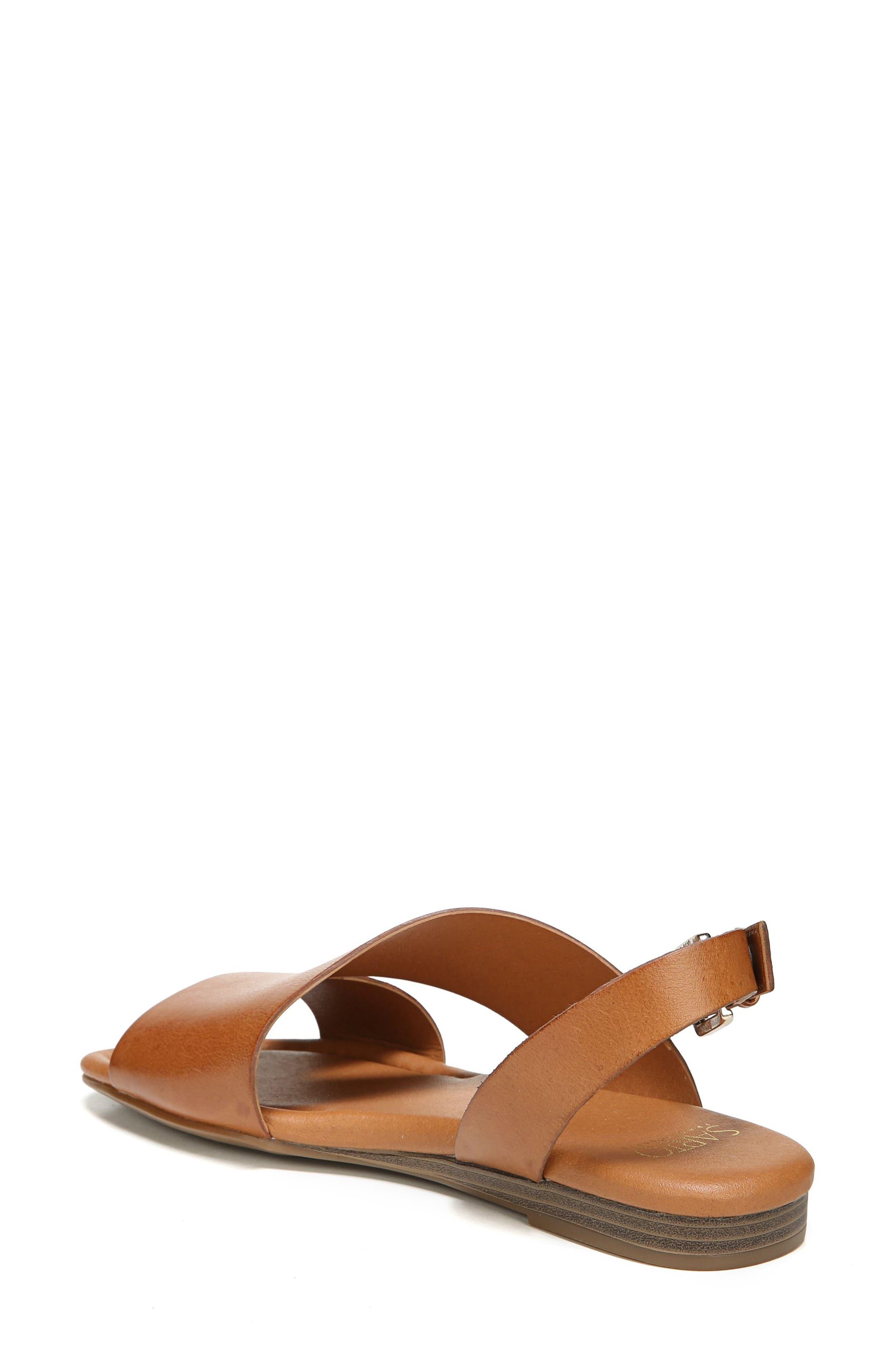 Garza Slingback Sandal,                             Alternate thumbnail 2, color,                             Tan Leather