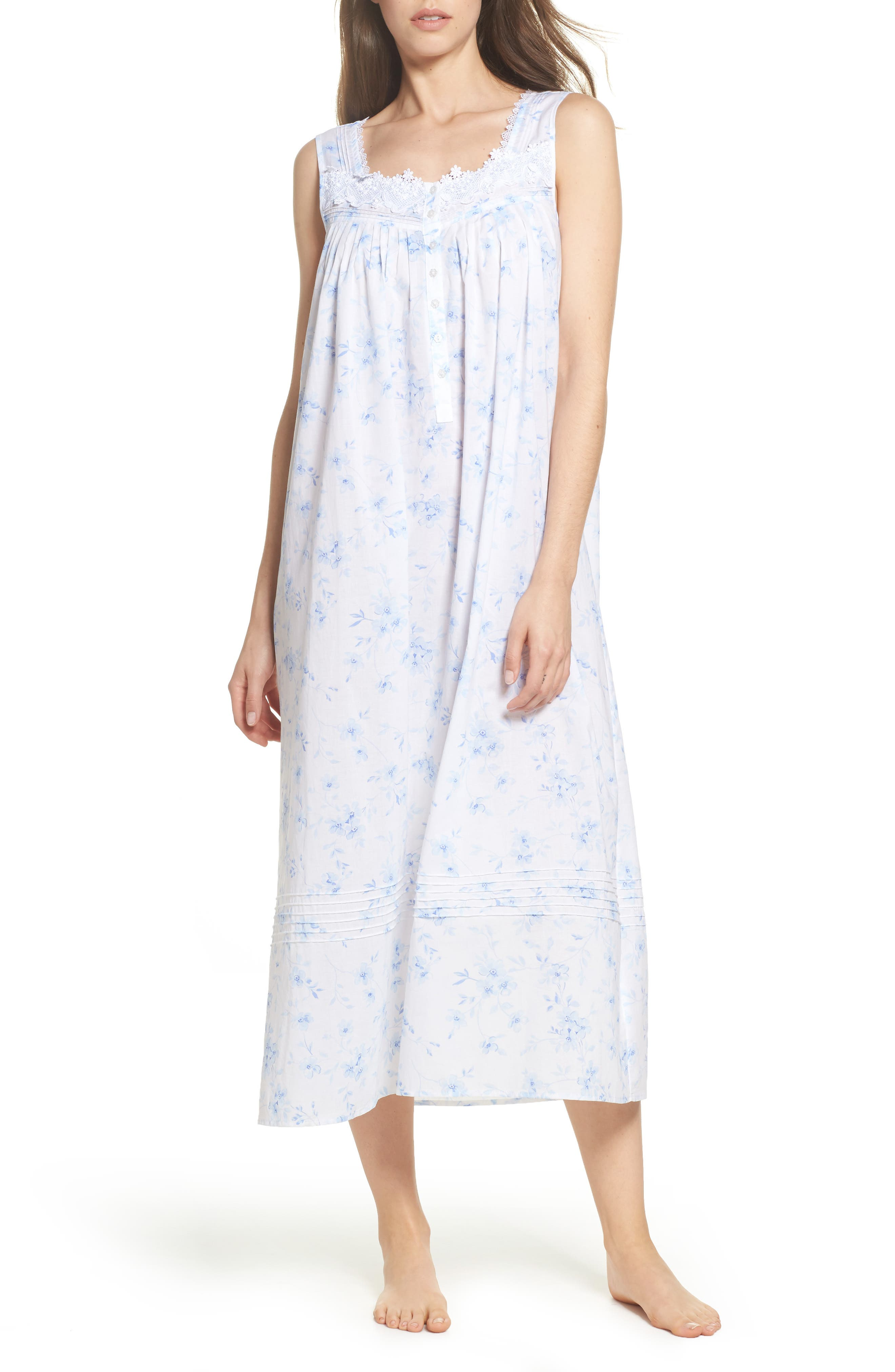 Alternate Image 1 Selected - Eileen West Cotton Lawn Ballet Nightgown
