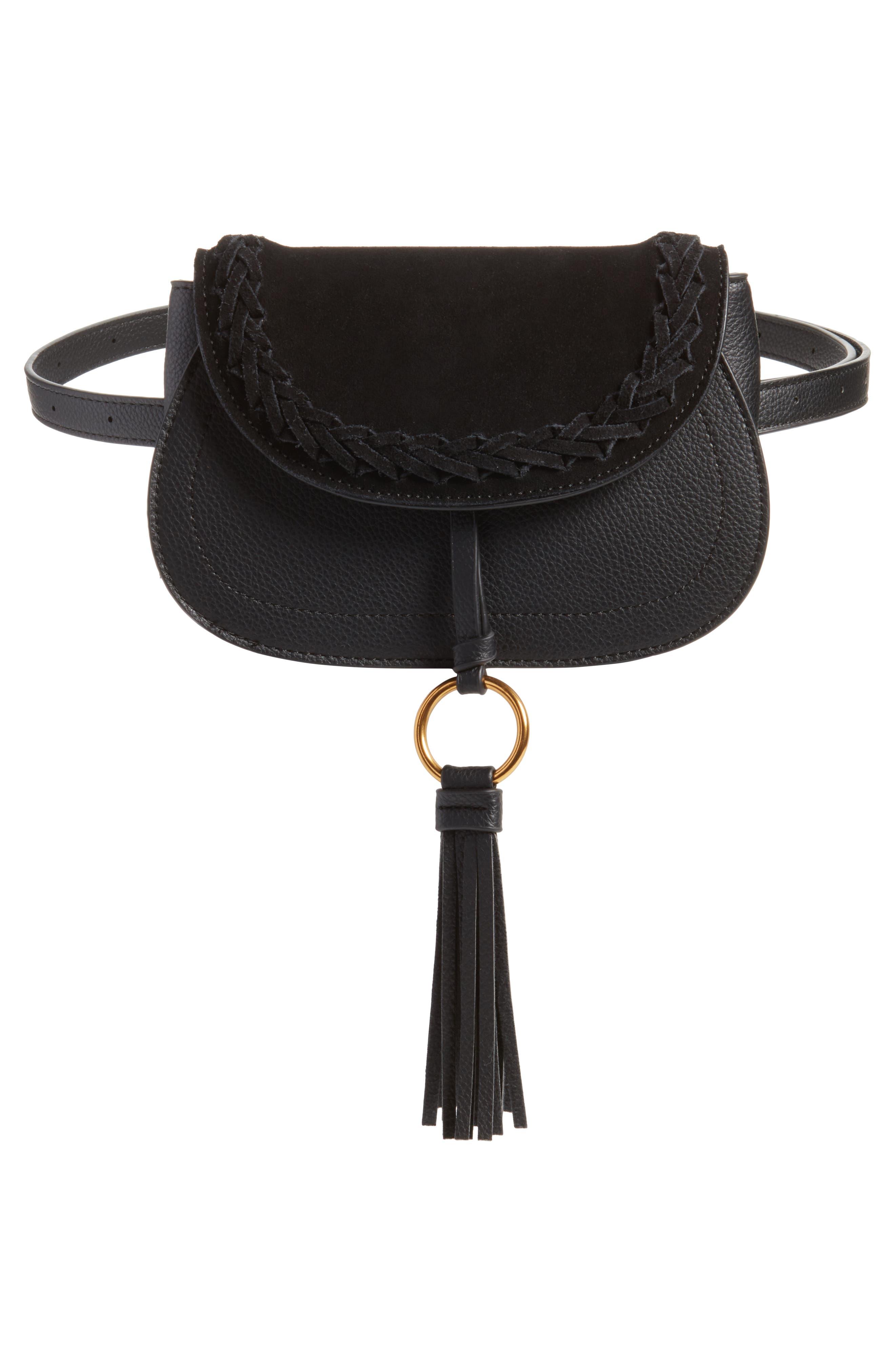 Convertible Crossbody Bag,                             Alternate thumbnail 6, color,                             Black