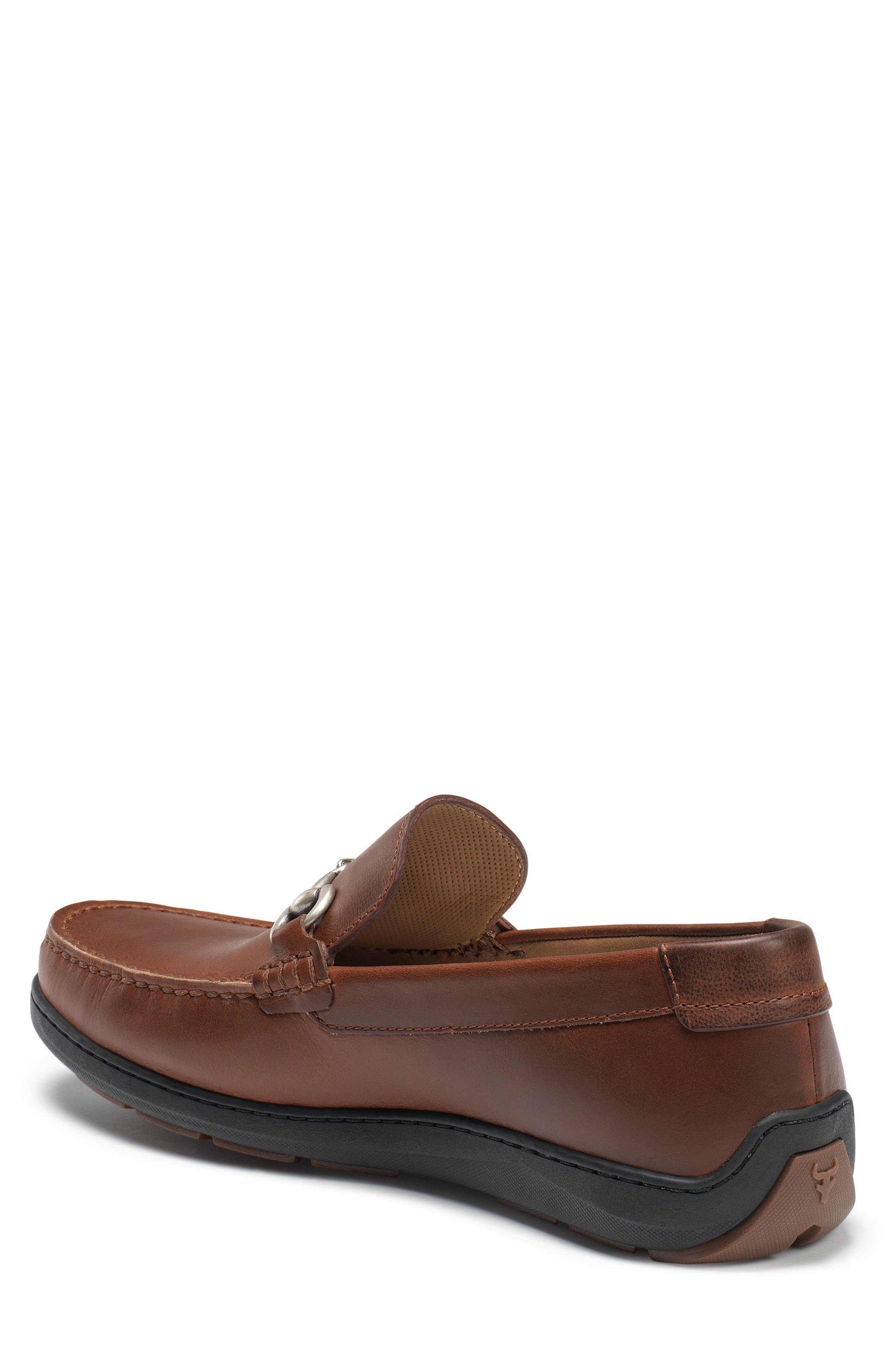 Stalworth Bit Loafer,                             Alternate thumbnail 2, color,                             Brandy Leather
