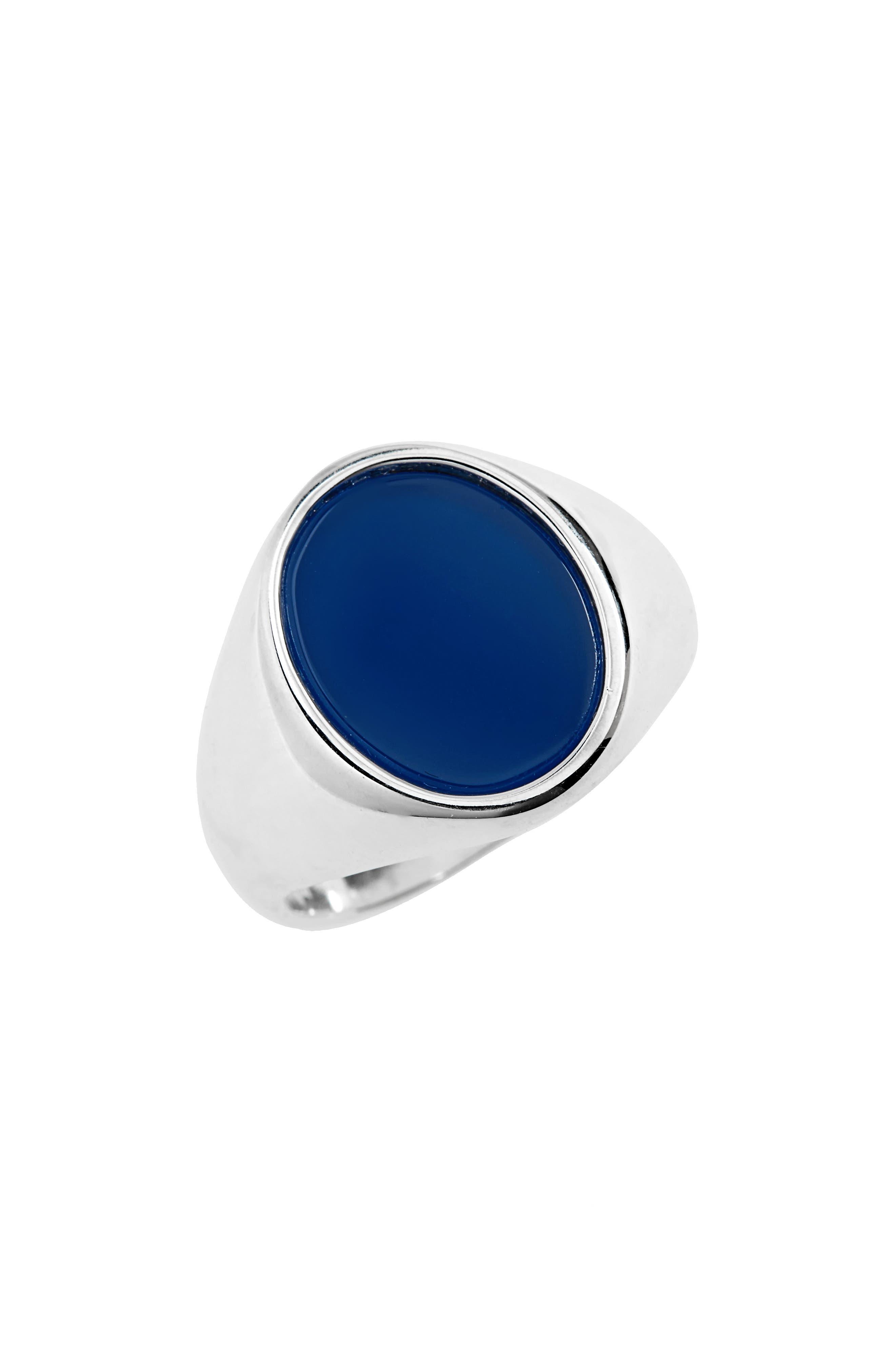 Maison Margiela Agate Stone Ring