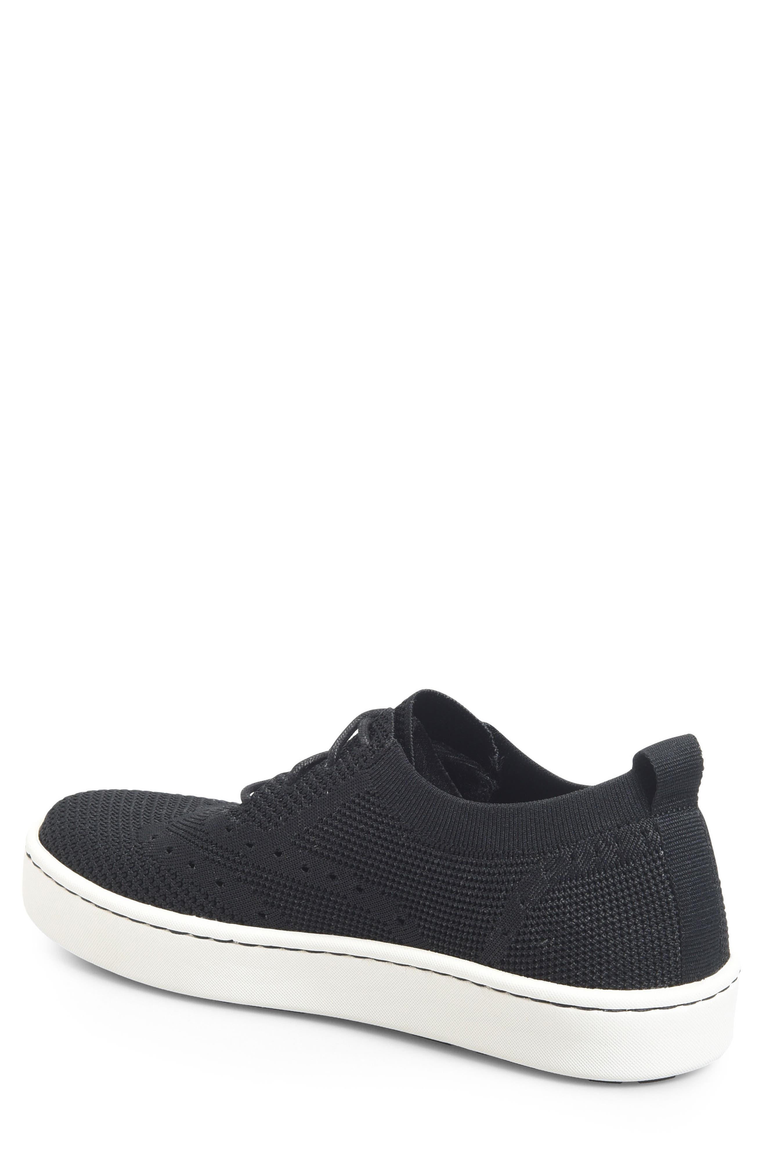 Bearse Sneaker,                             Alternate thumbnail 2, color,                             Black Knit