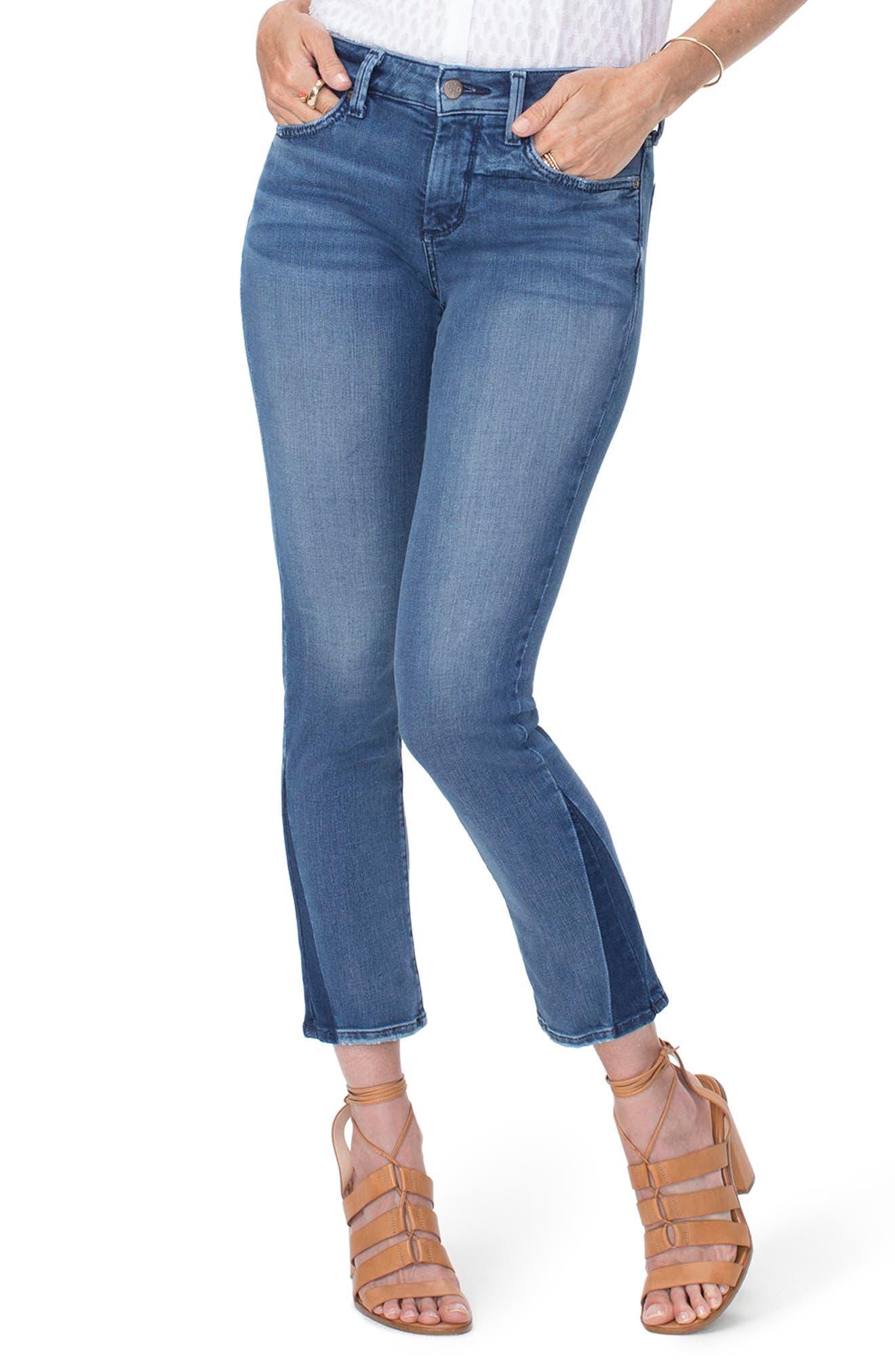 Sheri Slim Shadow Ankle Jeans,                         Main,                         color, Wishful