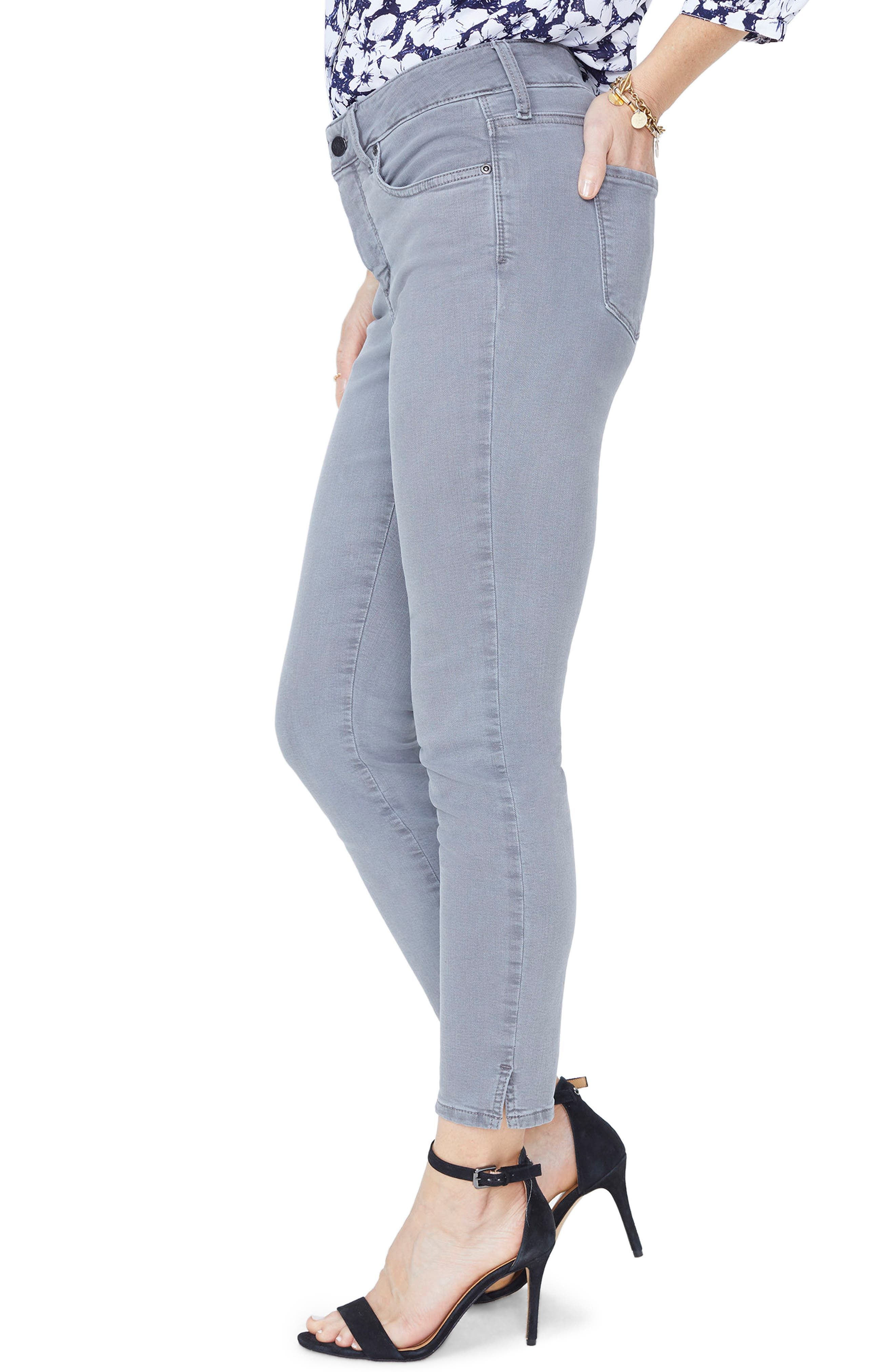 Alternate Image 3  - NYDJ Ami Stretch Ankle Skinny Jeans (Regular & Petite)