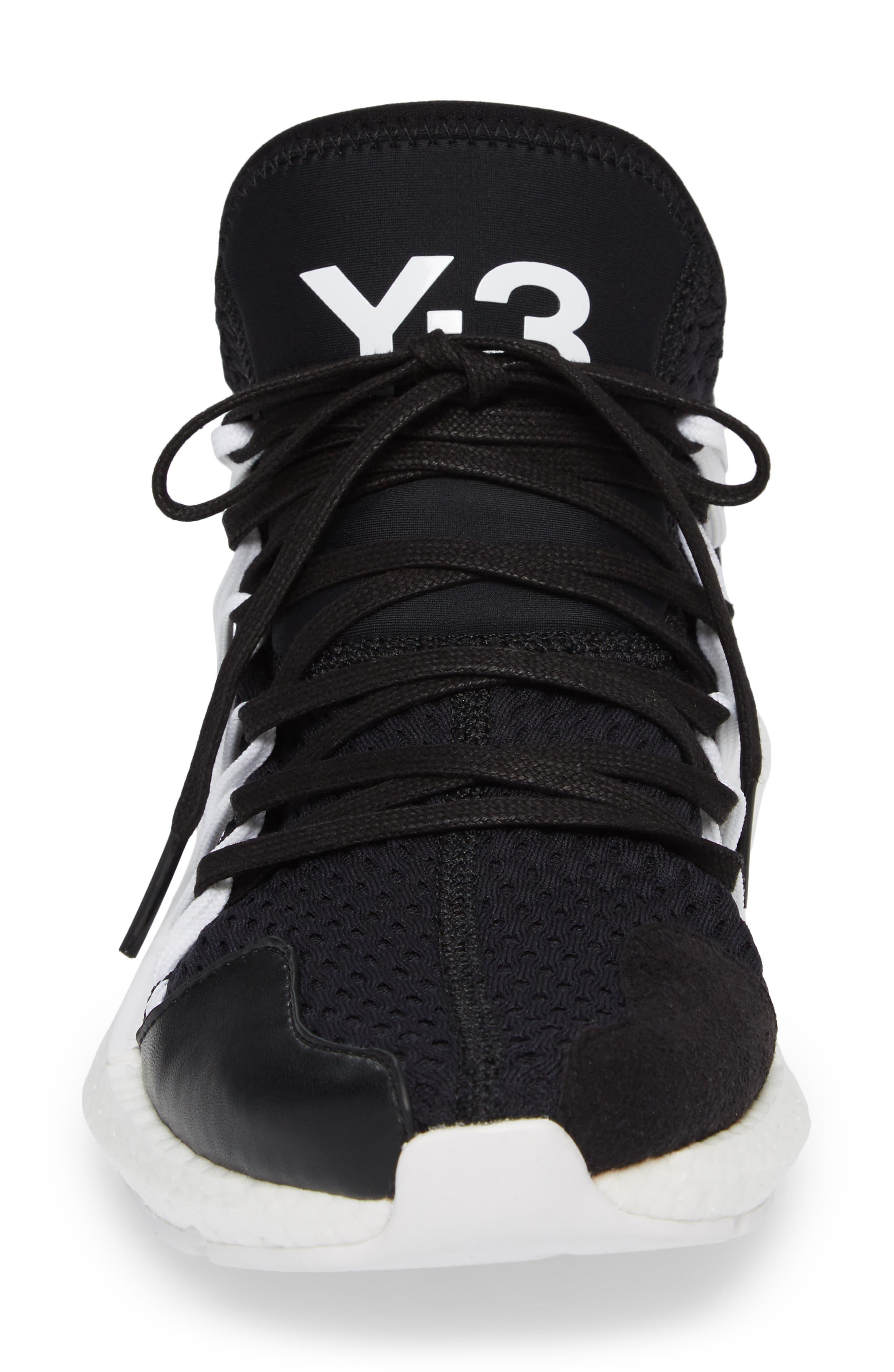 x adidas Kusari Sneaker,                             Alternate thumbnail 4, color,                             Black