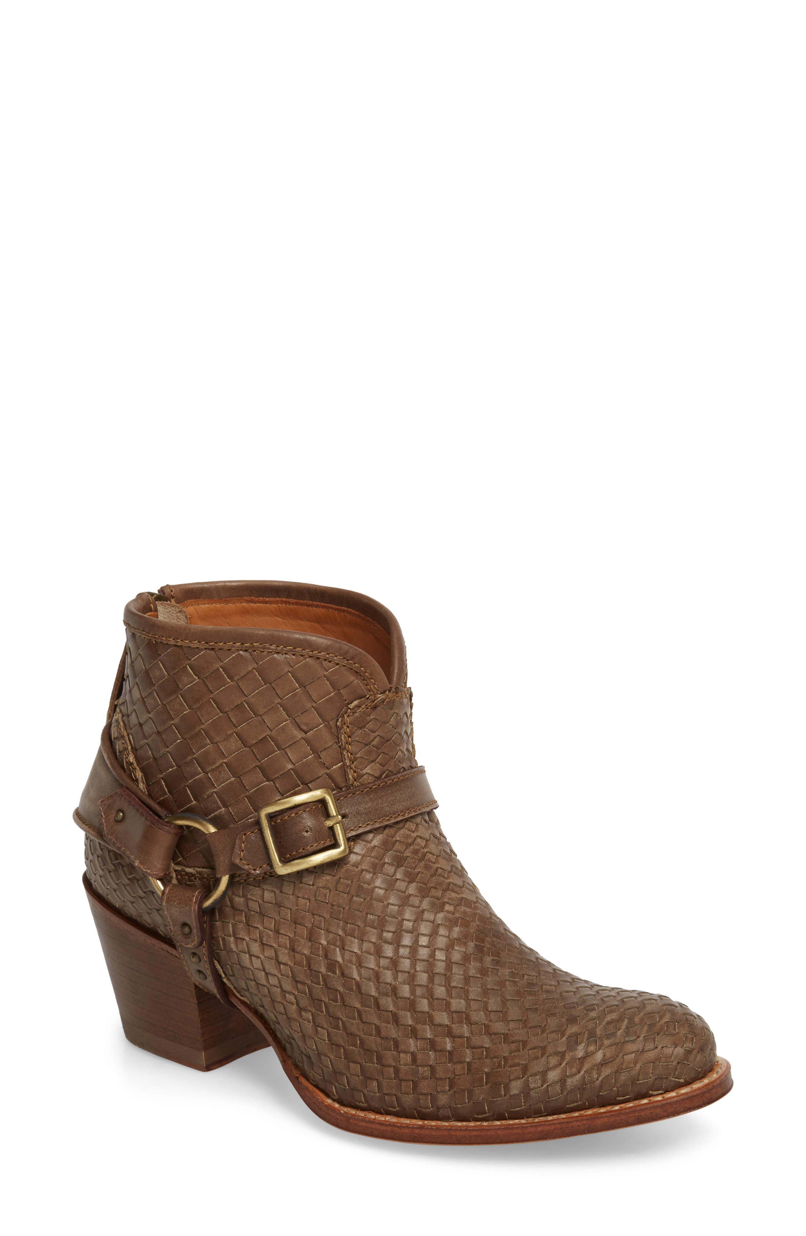 Two24 by Ariat Sollana Bootie,                             Main thumbnail 1, color,                             Brown Leather
