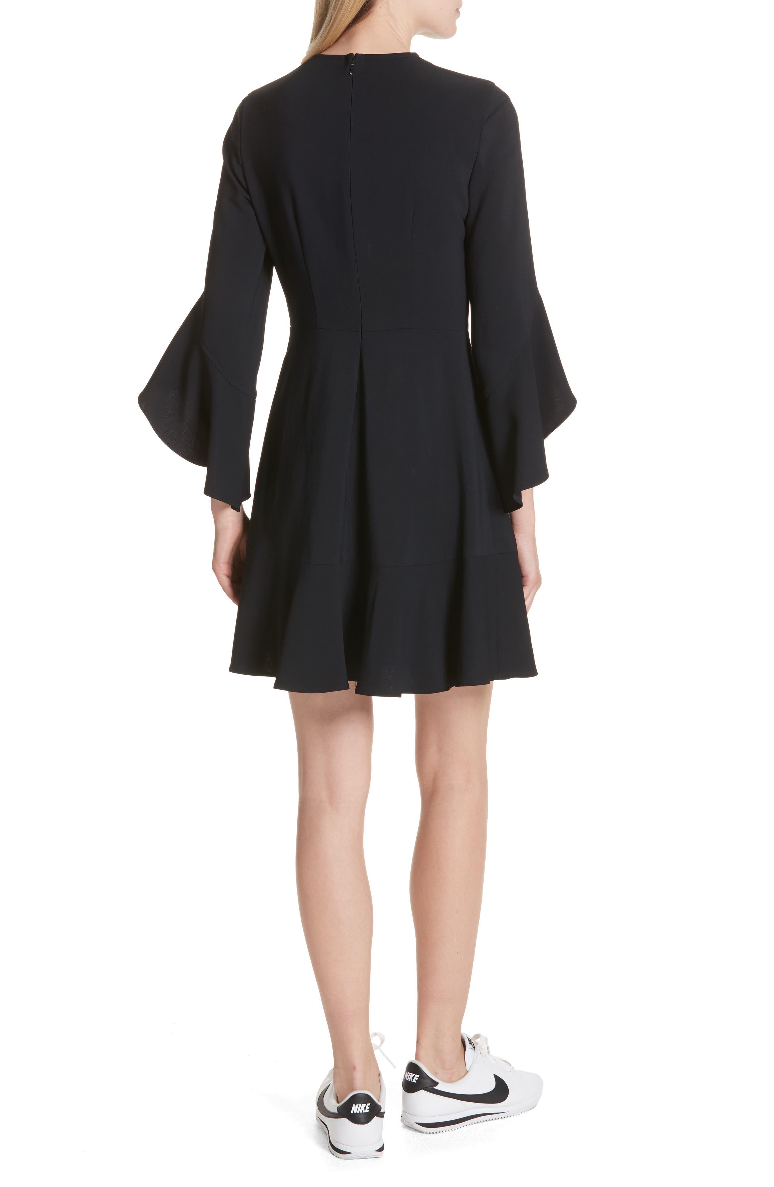Cassidy Dress,                             Alternate thumbnail 2, color,                             Midnight