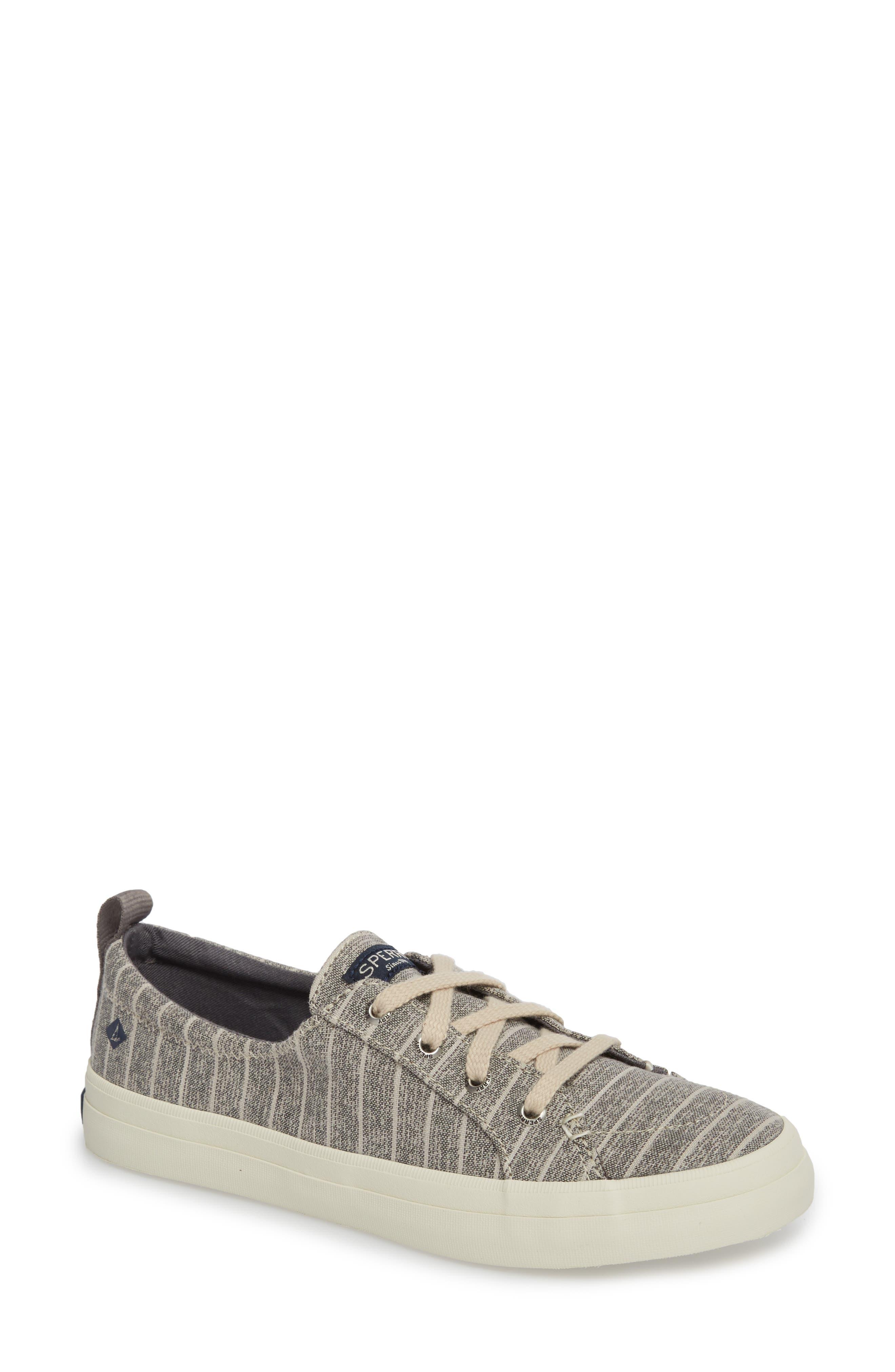 Sperry Crest Vibe Painterly Stripe Sneaker (Women)