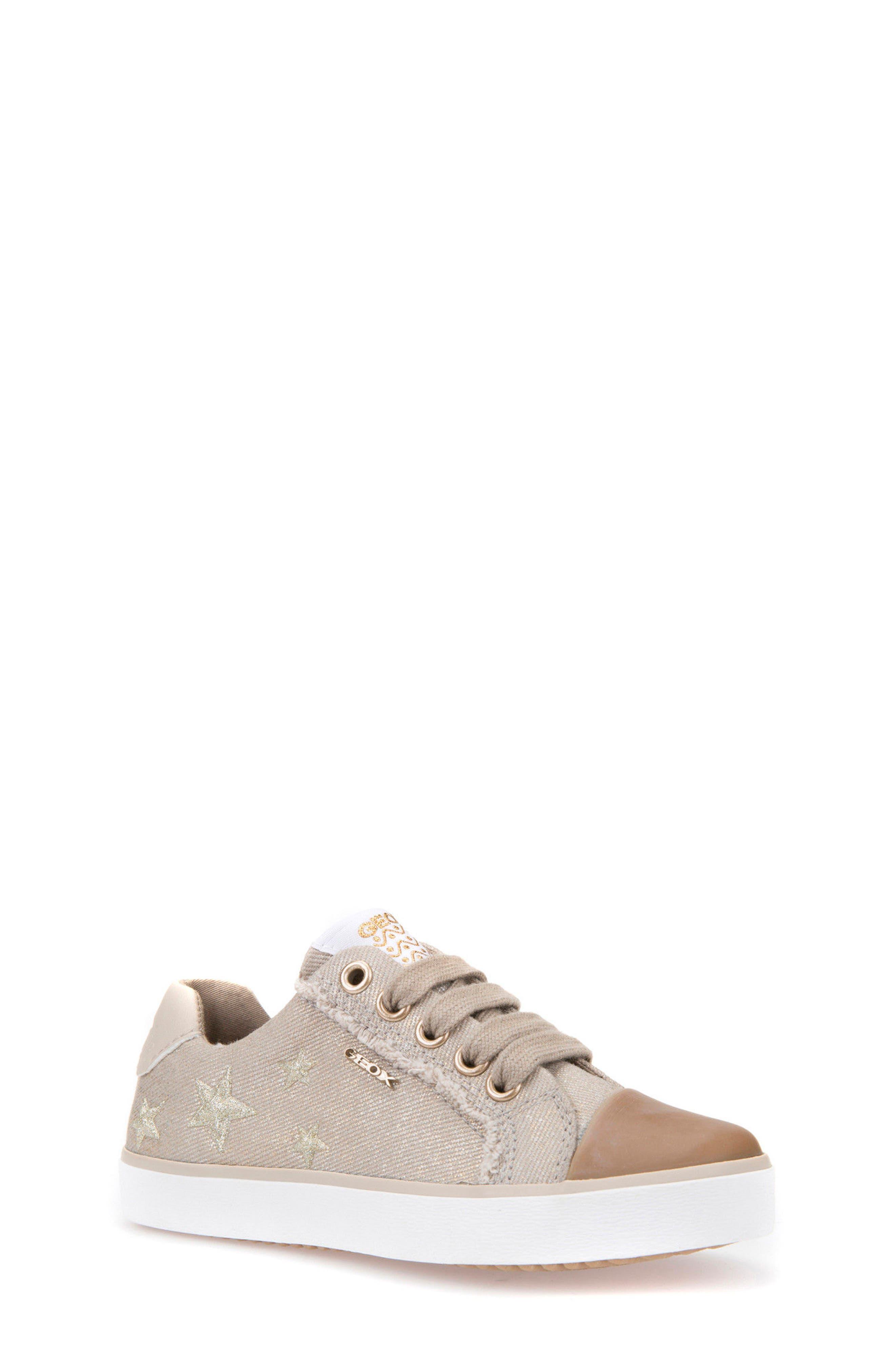 Geox Kilwi Low Top Sneaker (Toddler, Little Kid & Big Kid)