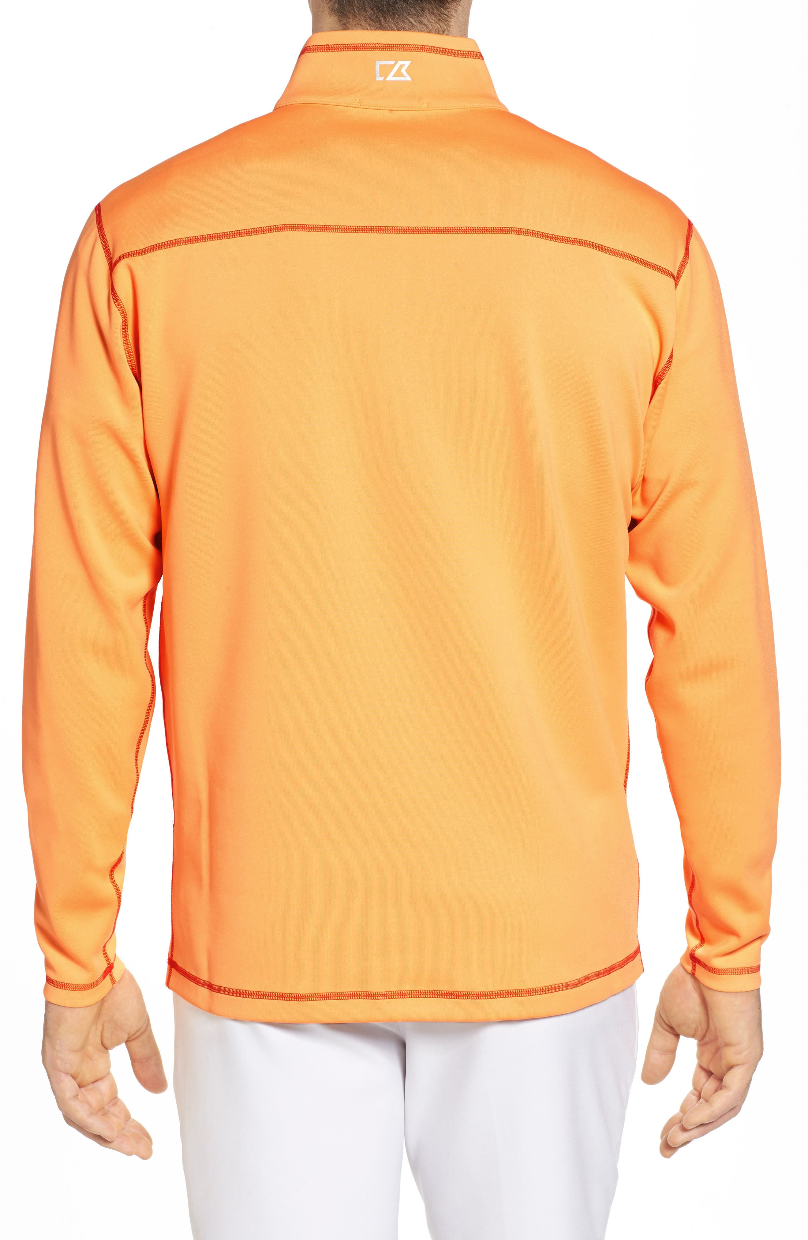 Evergreen Classic Fit DryTec Reversible Half Zip Pullover,                             Alternate thumbnail 2, color,                             Clarity