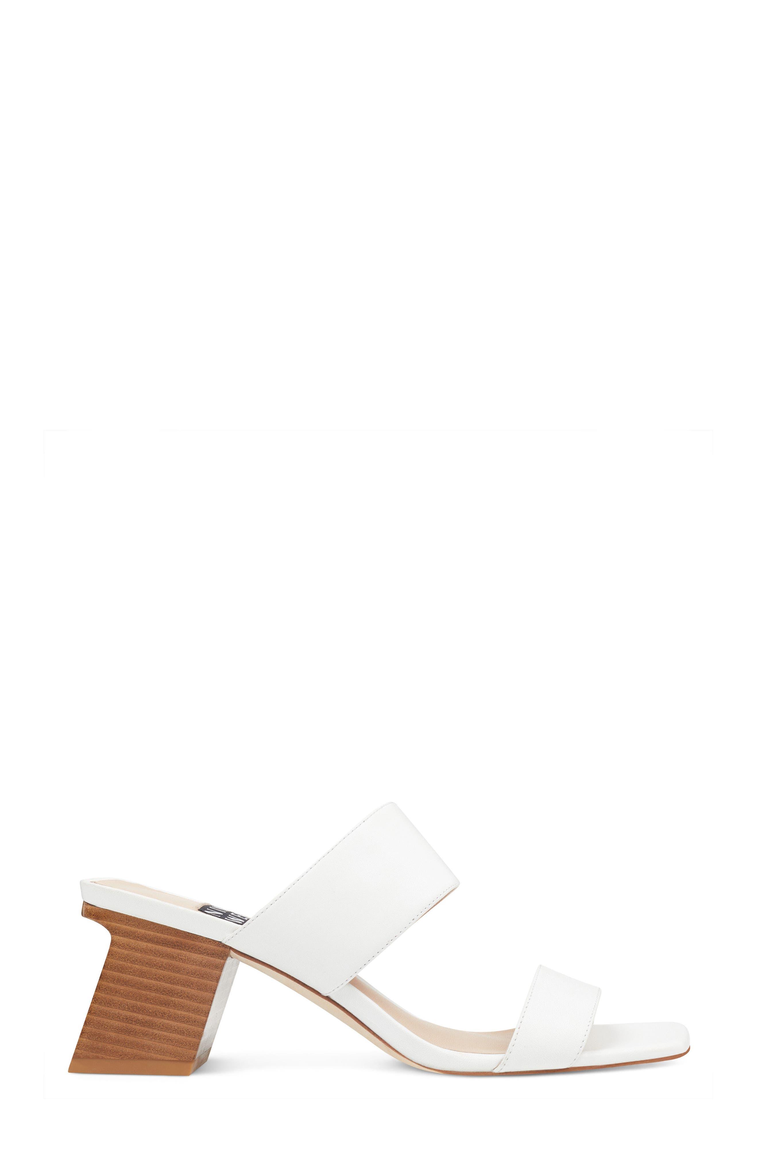 Churen - 40th Anniversary Capsule Collection Sandal,                             Alternate thumbnail 3, color,                             White Leather