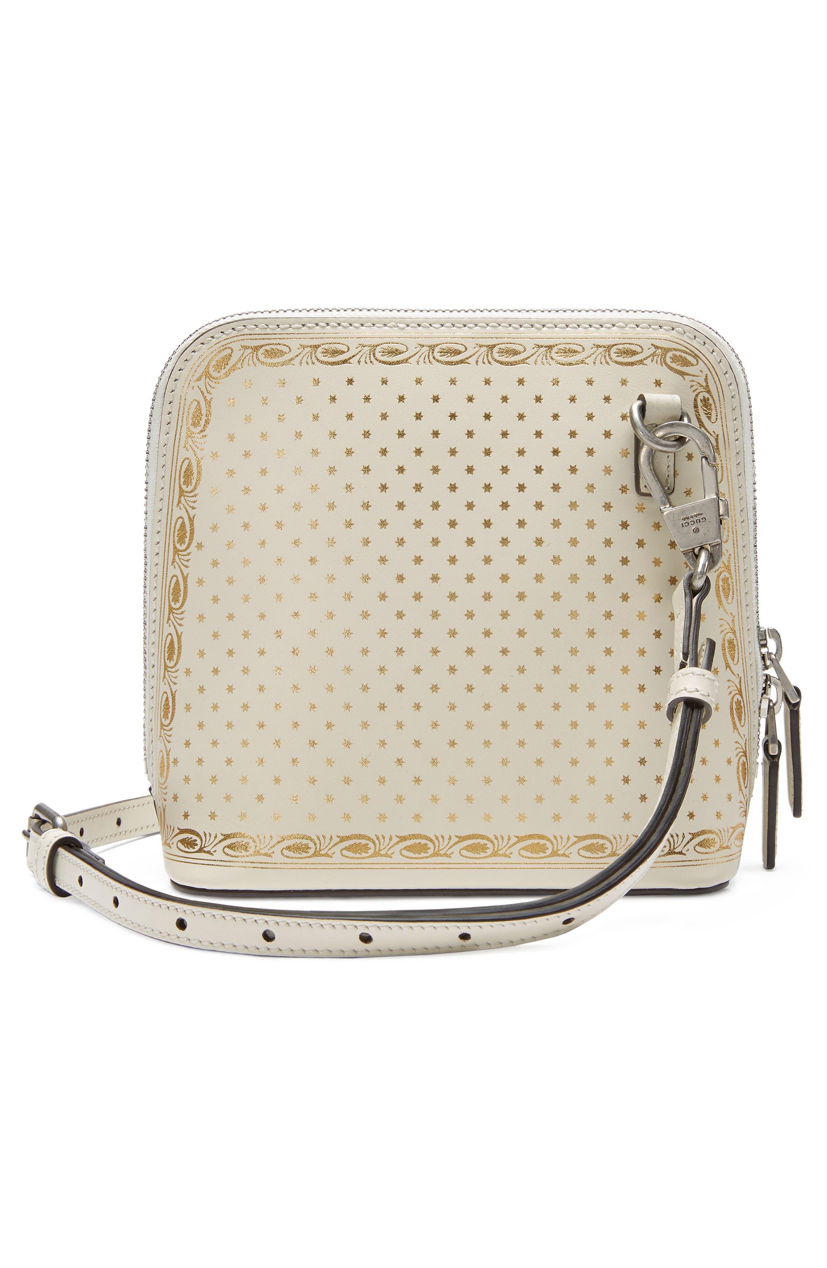 Alternate Image 2  - Gucci Guccy Logo Moon & Stars Leather Crossbody Bag