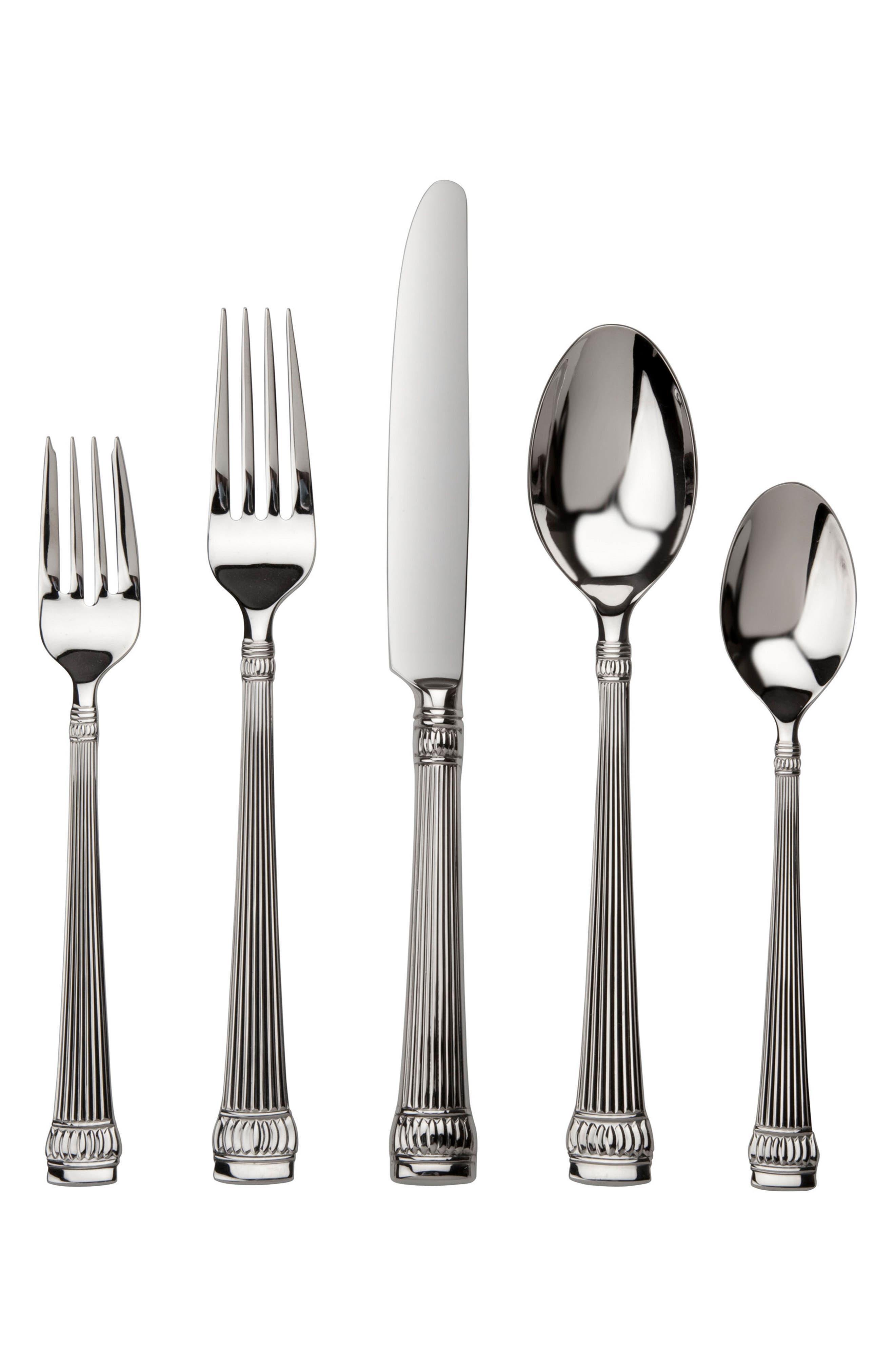 Main Image - Ricci Argentieri Girasole 45-Piece Stainless Steel Flatware Set