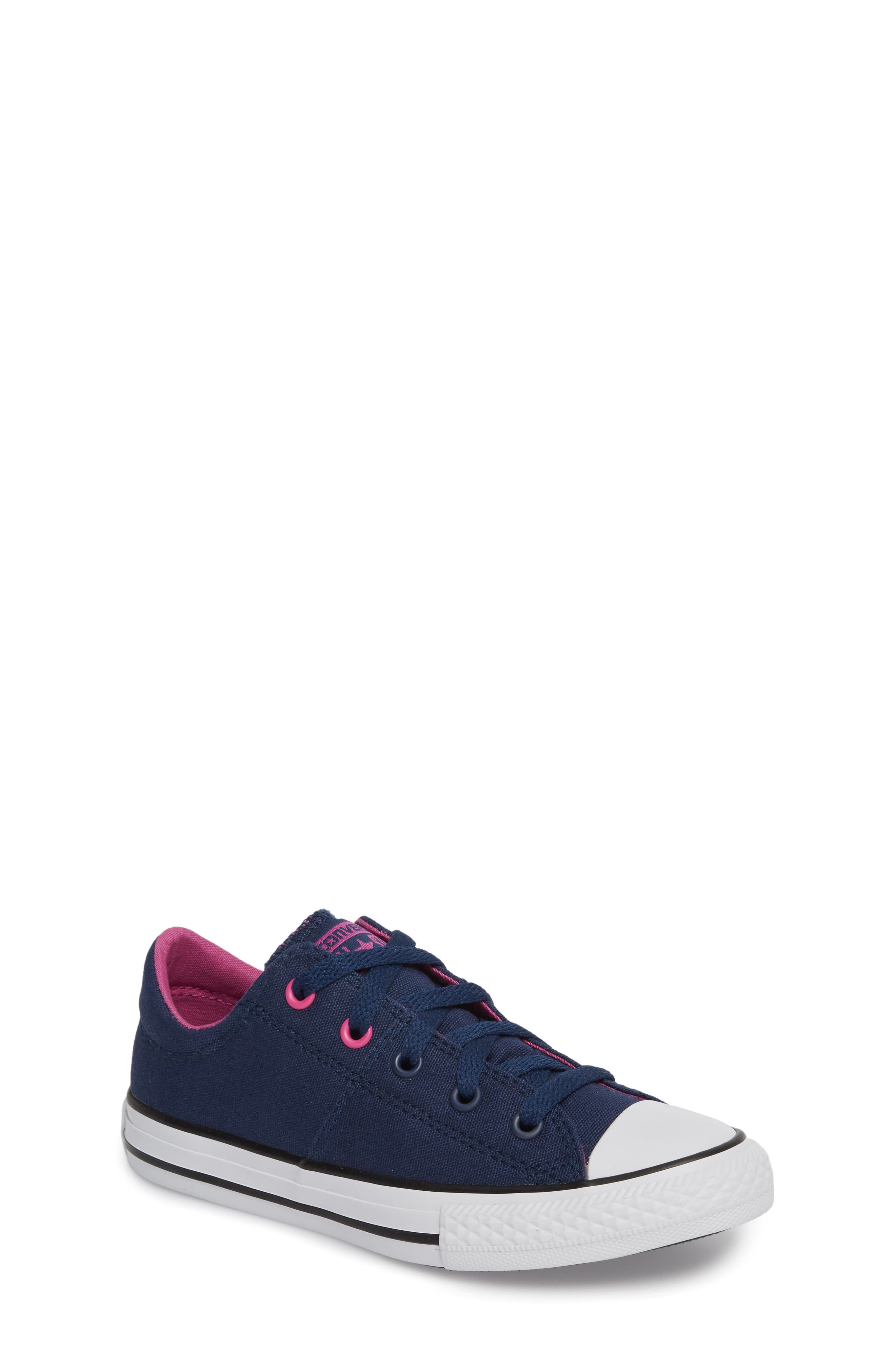 Alternate Image 1 Selected - Converse Chuck Taylor® All Star® Madison Low Top Sneaker (Toddler, Little Kid & Big Kid)