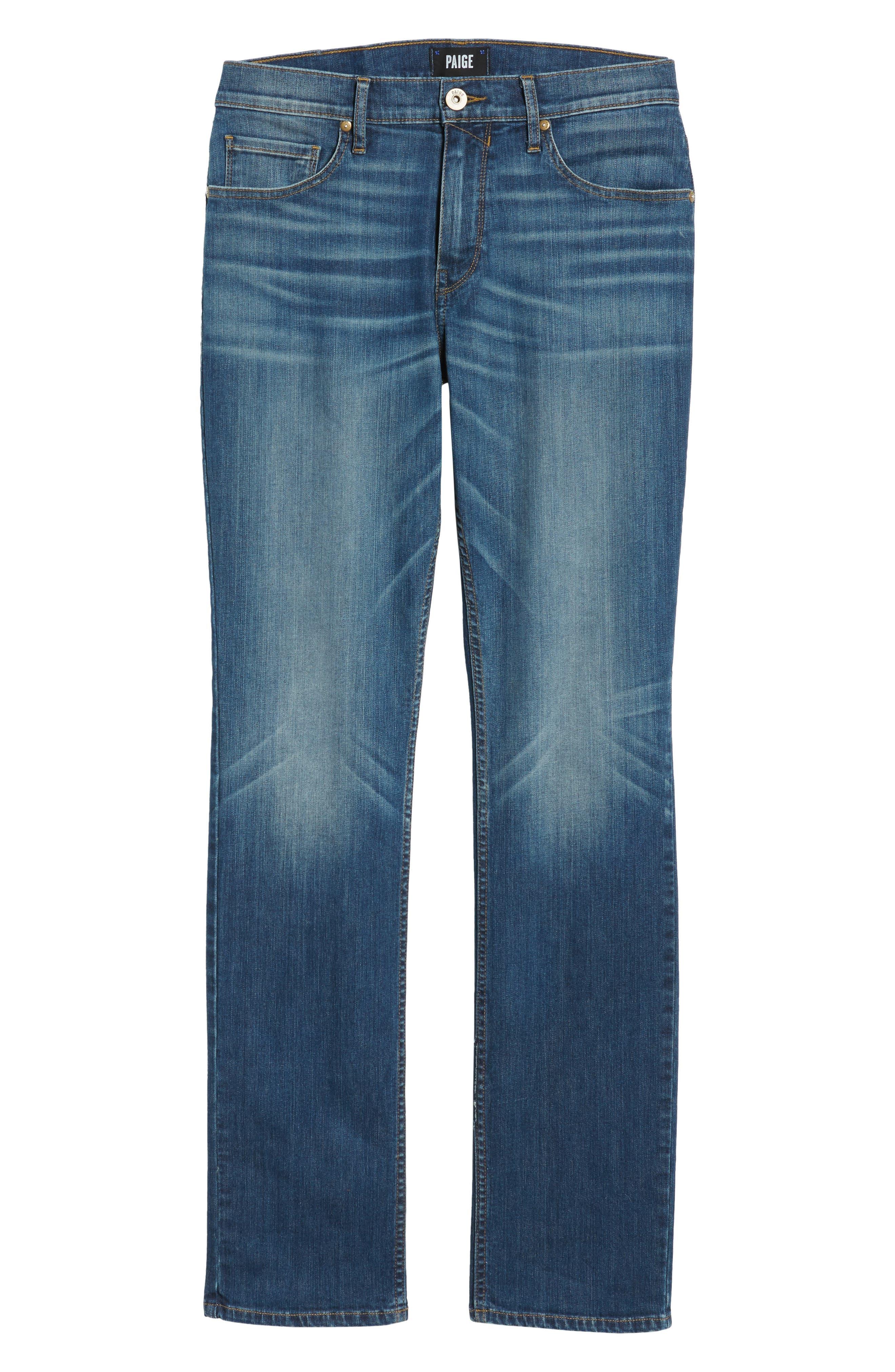 Federal Slim Straight Leg Jeans,                             Alternate thumbnail 6, color,                             Harlan