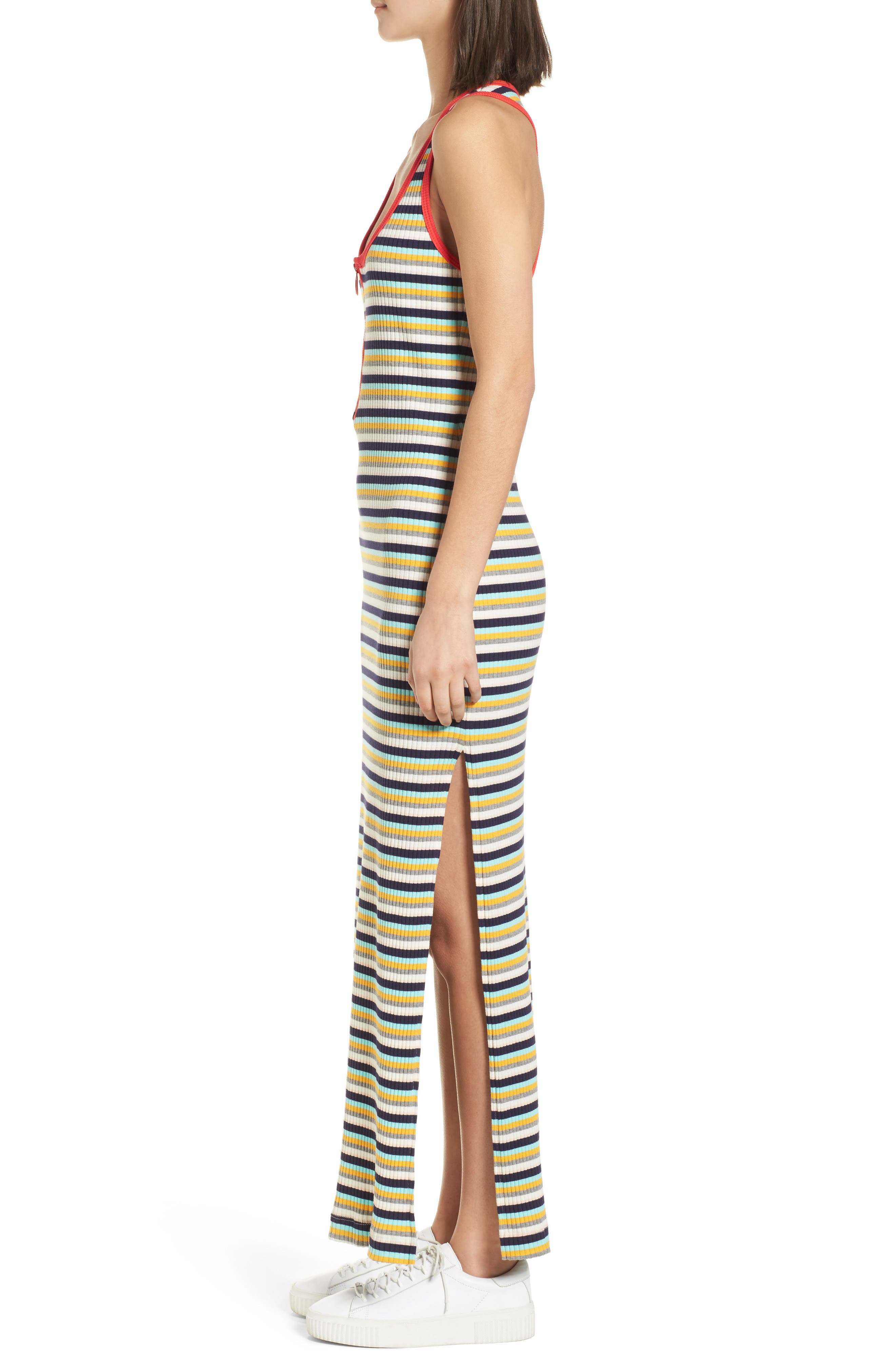 x Margherita Banda Maxi Dress,                             Alternate thumbnail 4, color,                             Multi