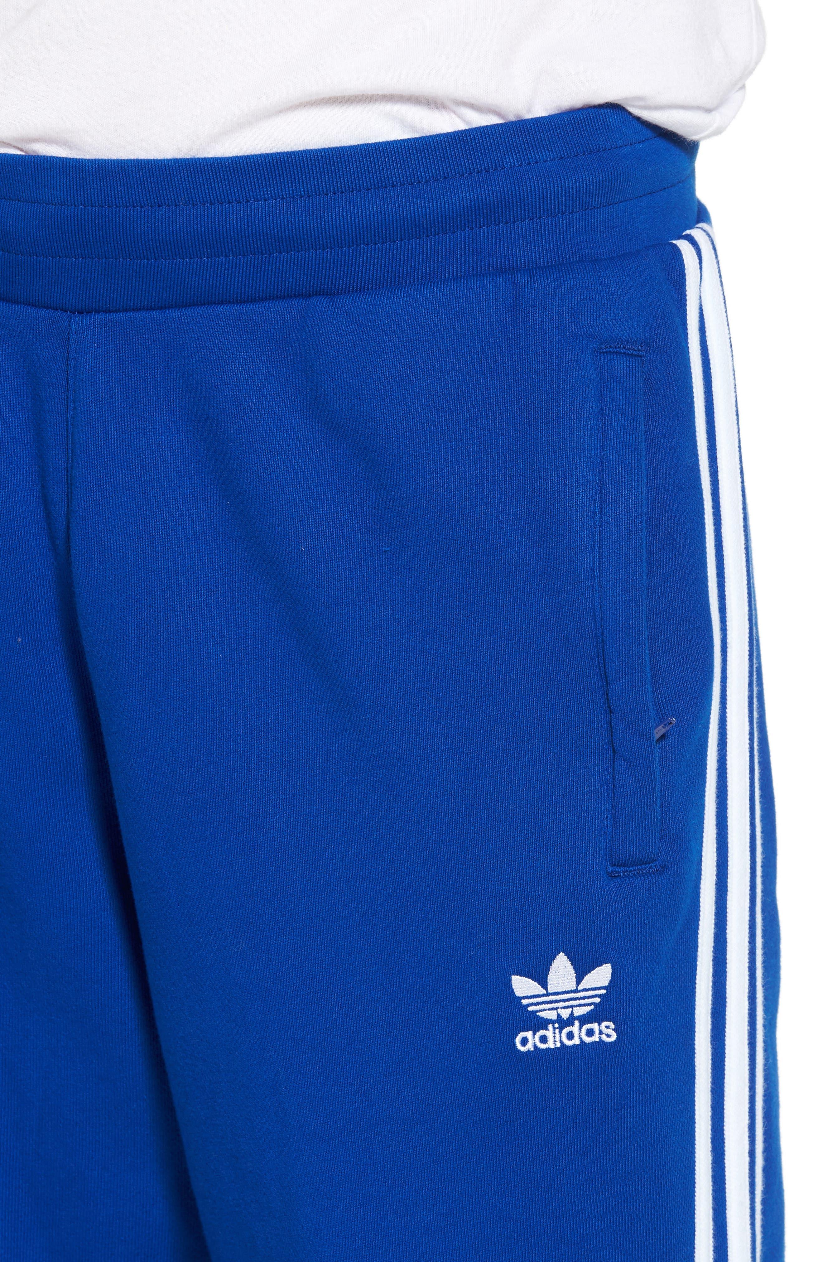 3-Stripes Sweatpants,                             Alternate thumbnail 4, color,                             Collegiate Royal