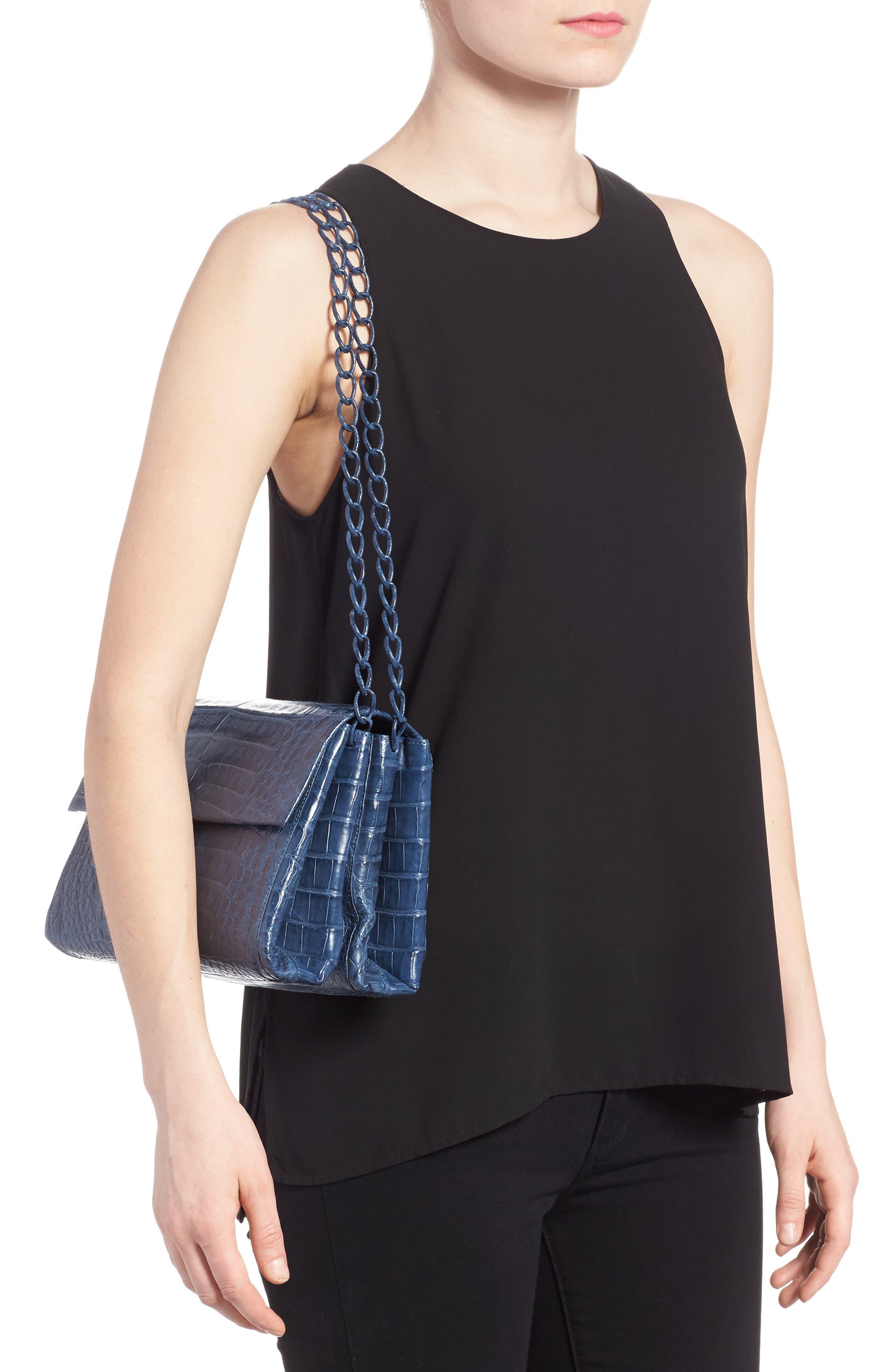 Alternate Image 2  - Nancy Gonzalez Genuine Crocodile Shoulder Bag