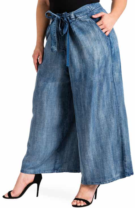 dd0fe519ddb7 Women s Wide Leg Jeans   Denim
