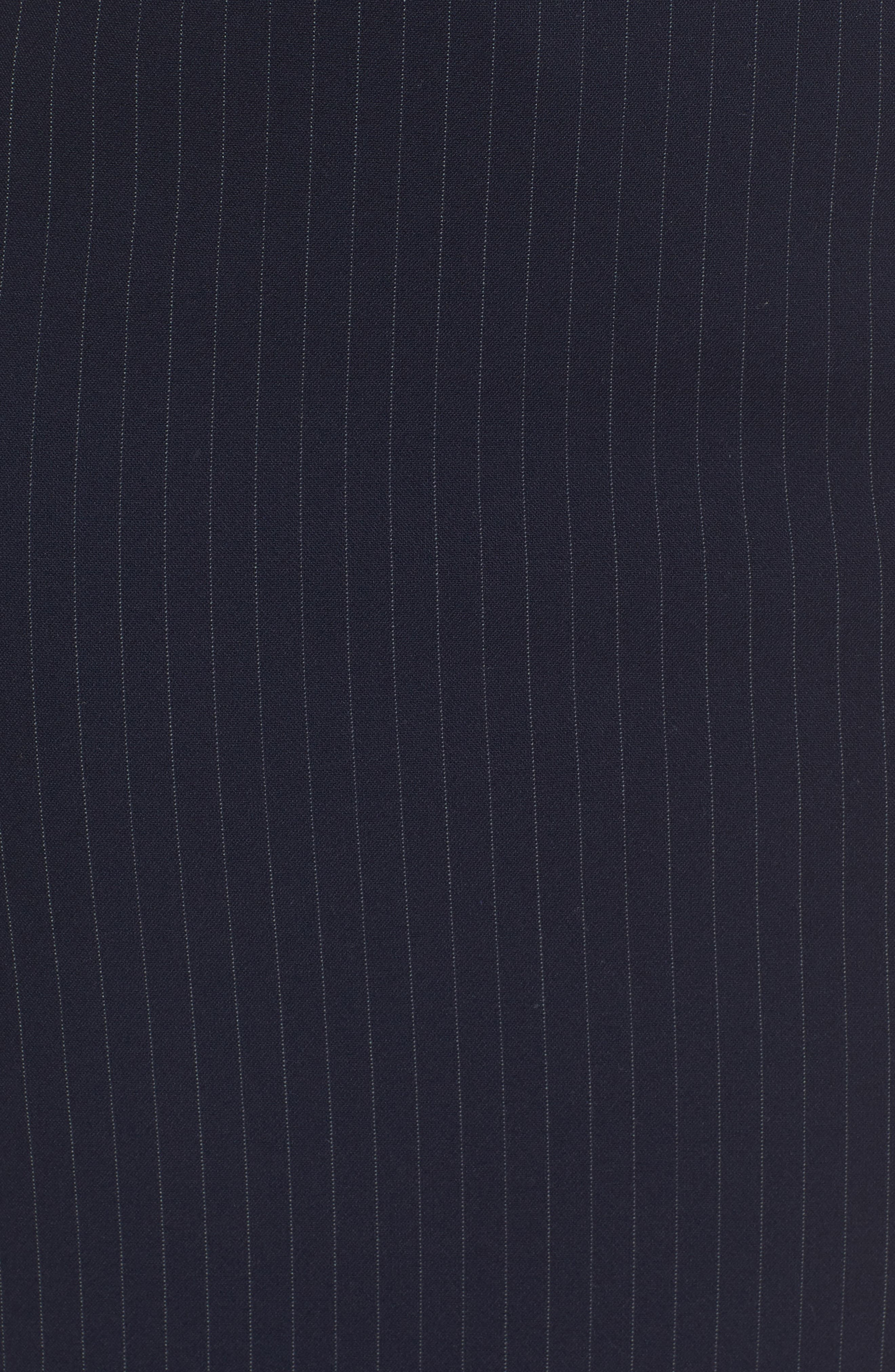 Vispana Pinstripe Suit Skirt,                             Alternate thumbnail 6, color,                             Nautical Fantasy