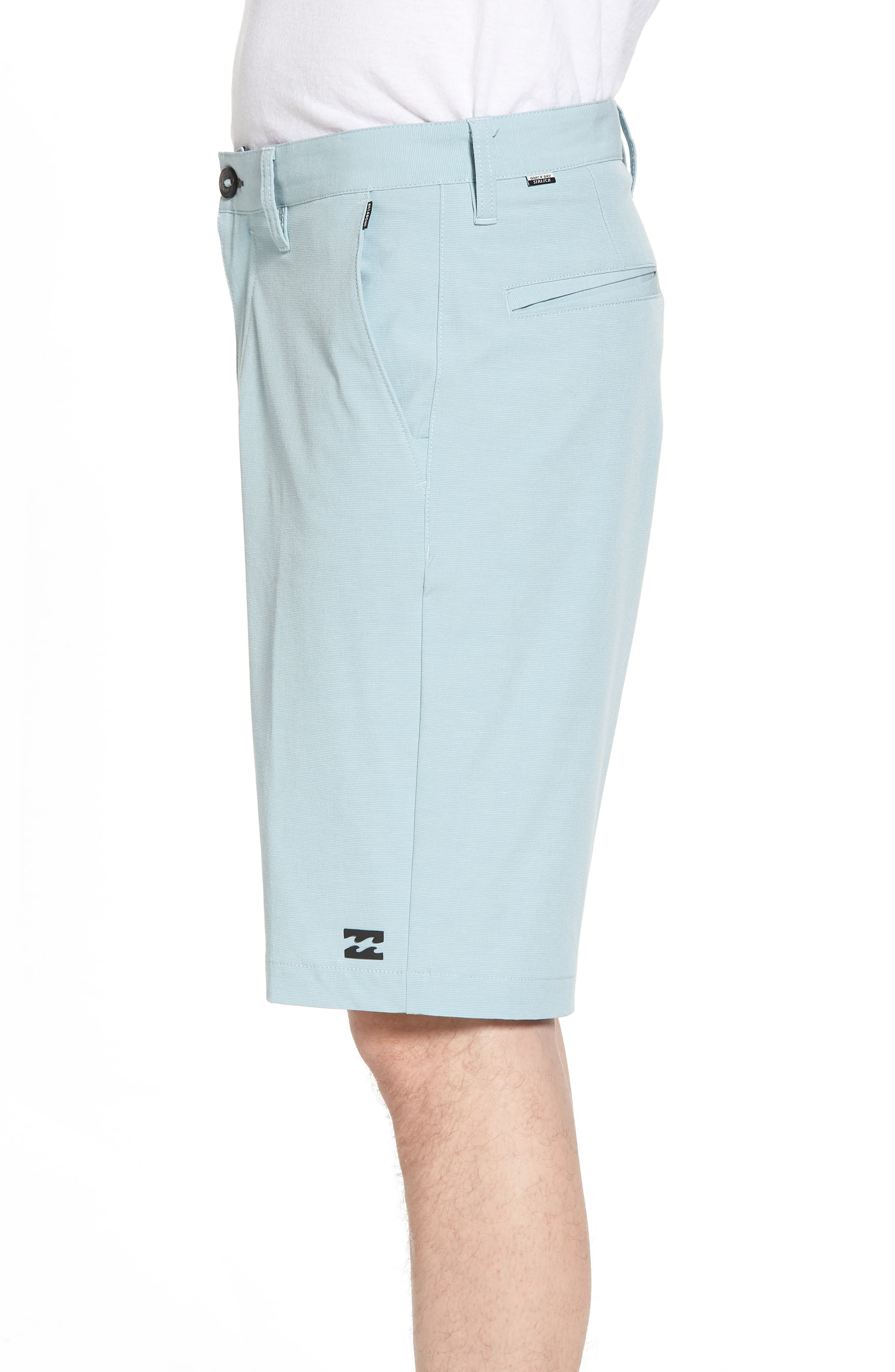 Crossfire X Hybrid Shorts,                             Alternate thumbnail 3, color,                             Dusty Blue