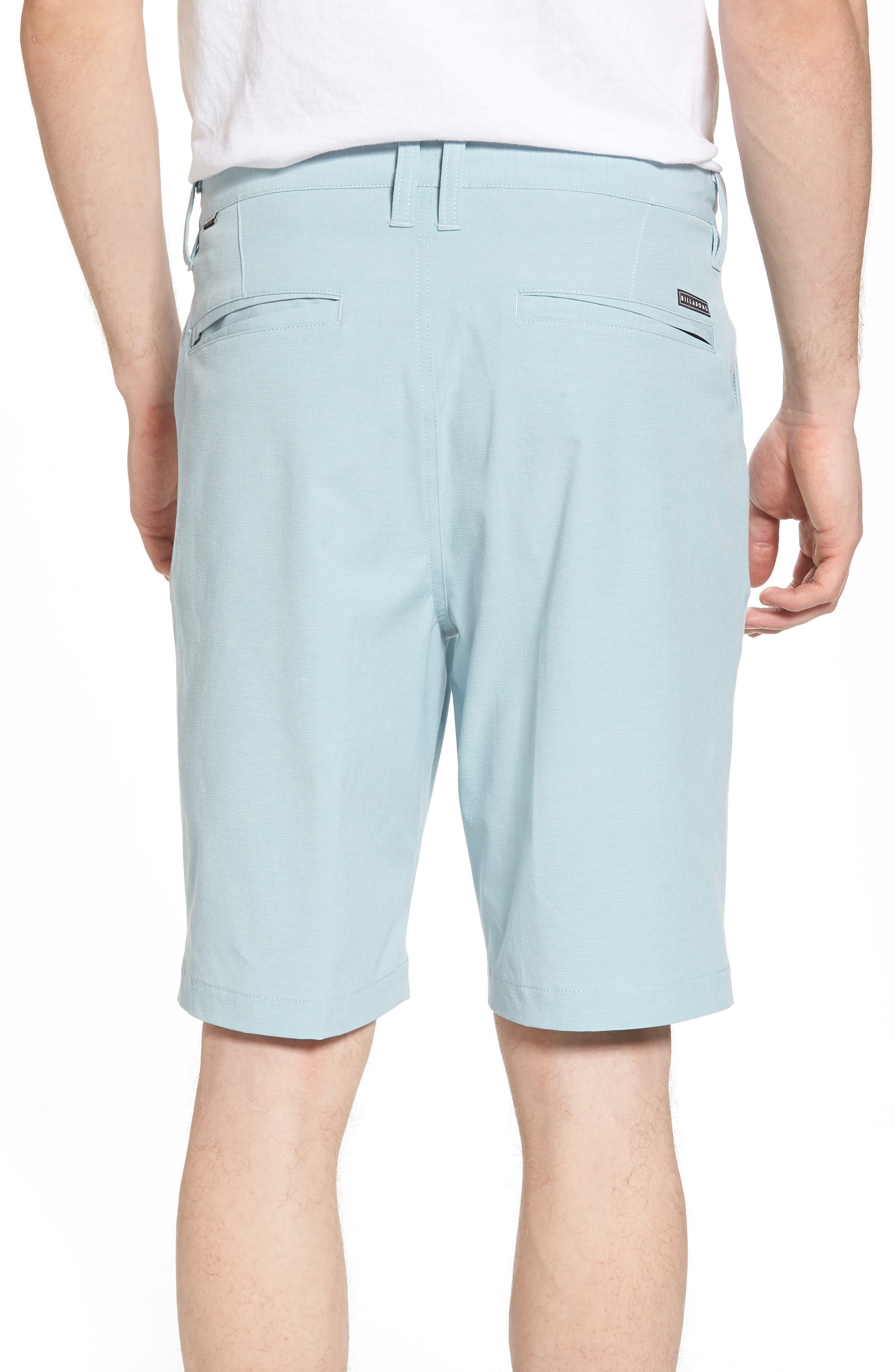 Crossfire X Hybrid Shorts,                             Alternate thumbnail 2, color,                             Dusty Blue