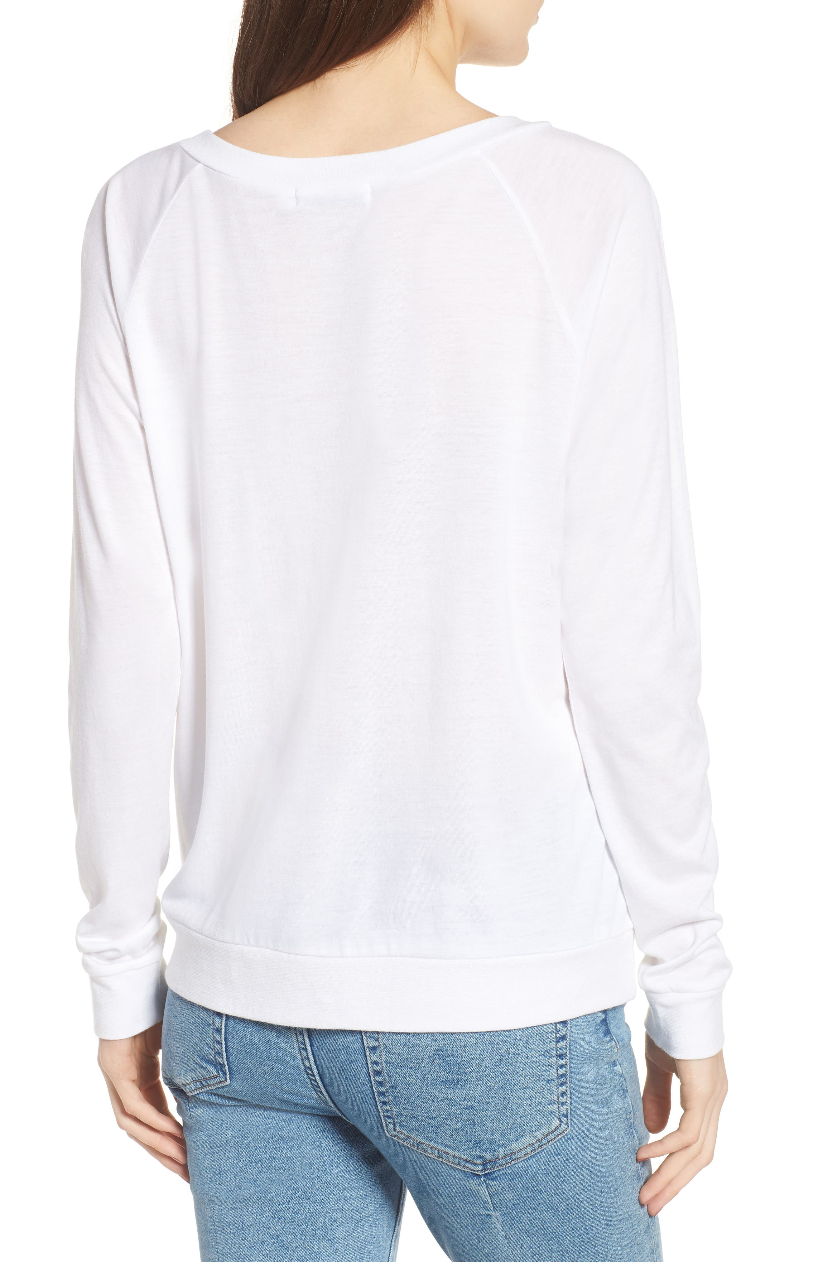 Candy - Smile Smile Pullover,                             Alternate thumbnail 2, color,                             White