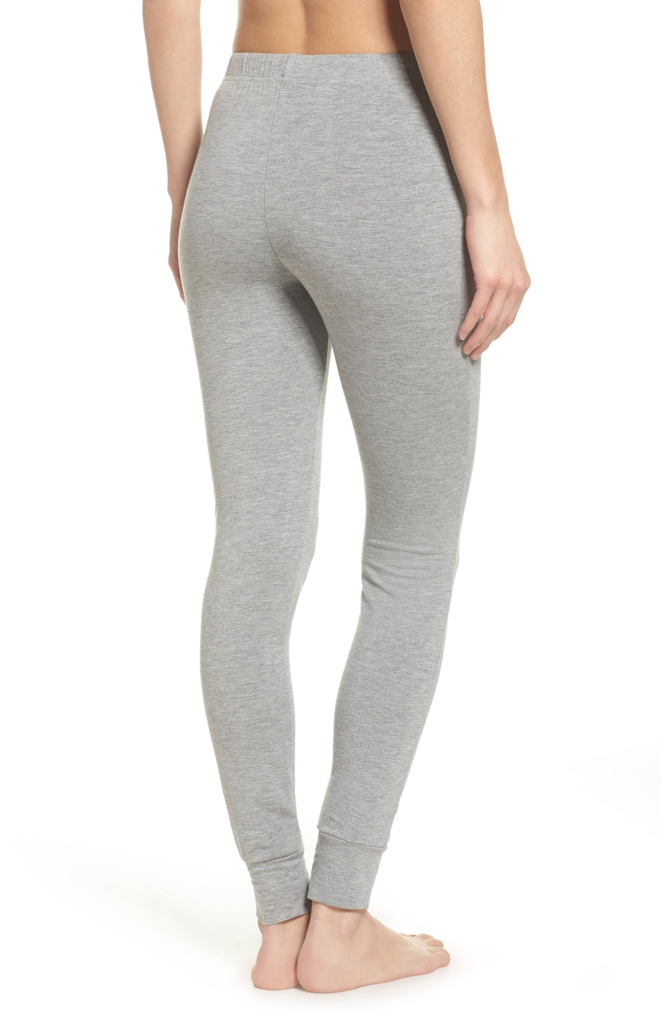 Kickin' It French Terry Lounge Pants,                             Alternate thumbnail 2, color,                             Heather Grey