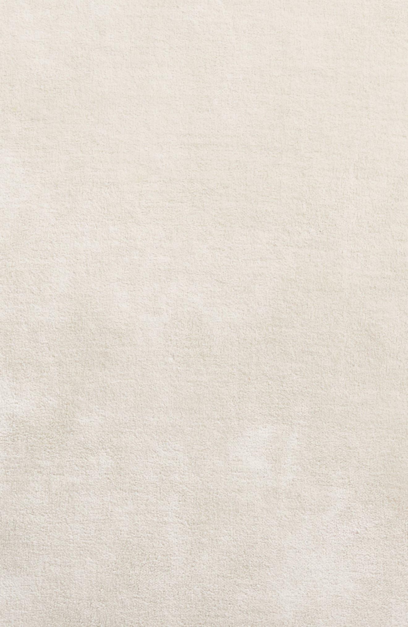 Stonewash Velvet Accent Pillow,                             Alternate thumbnail 4, color,                             Grey Chime