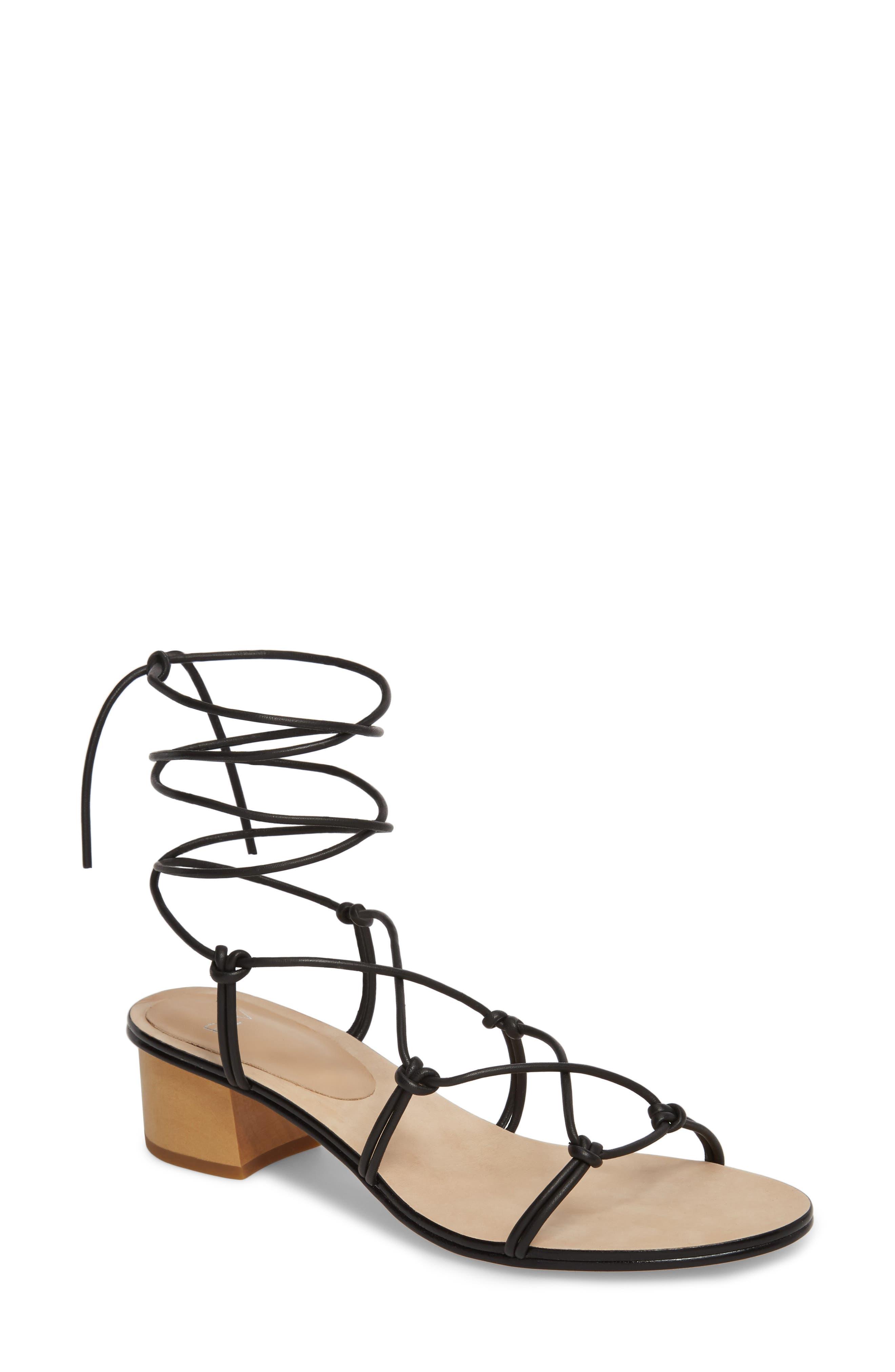 Pour La Victoire Women's Jules Ankle Tie Sandal VnhCHdB