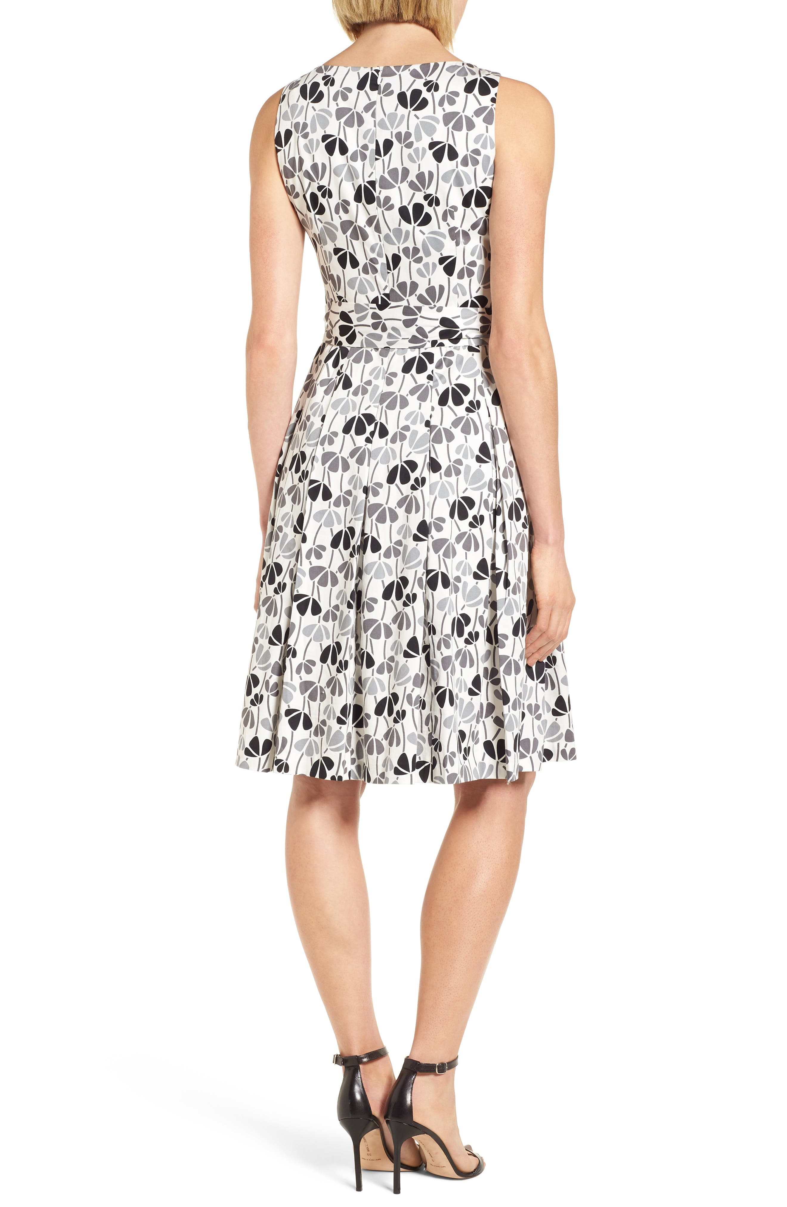 Alternate Image 2  - Anne Klein New York Flowerfall Fit and Flare Dress