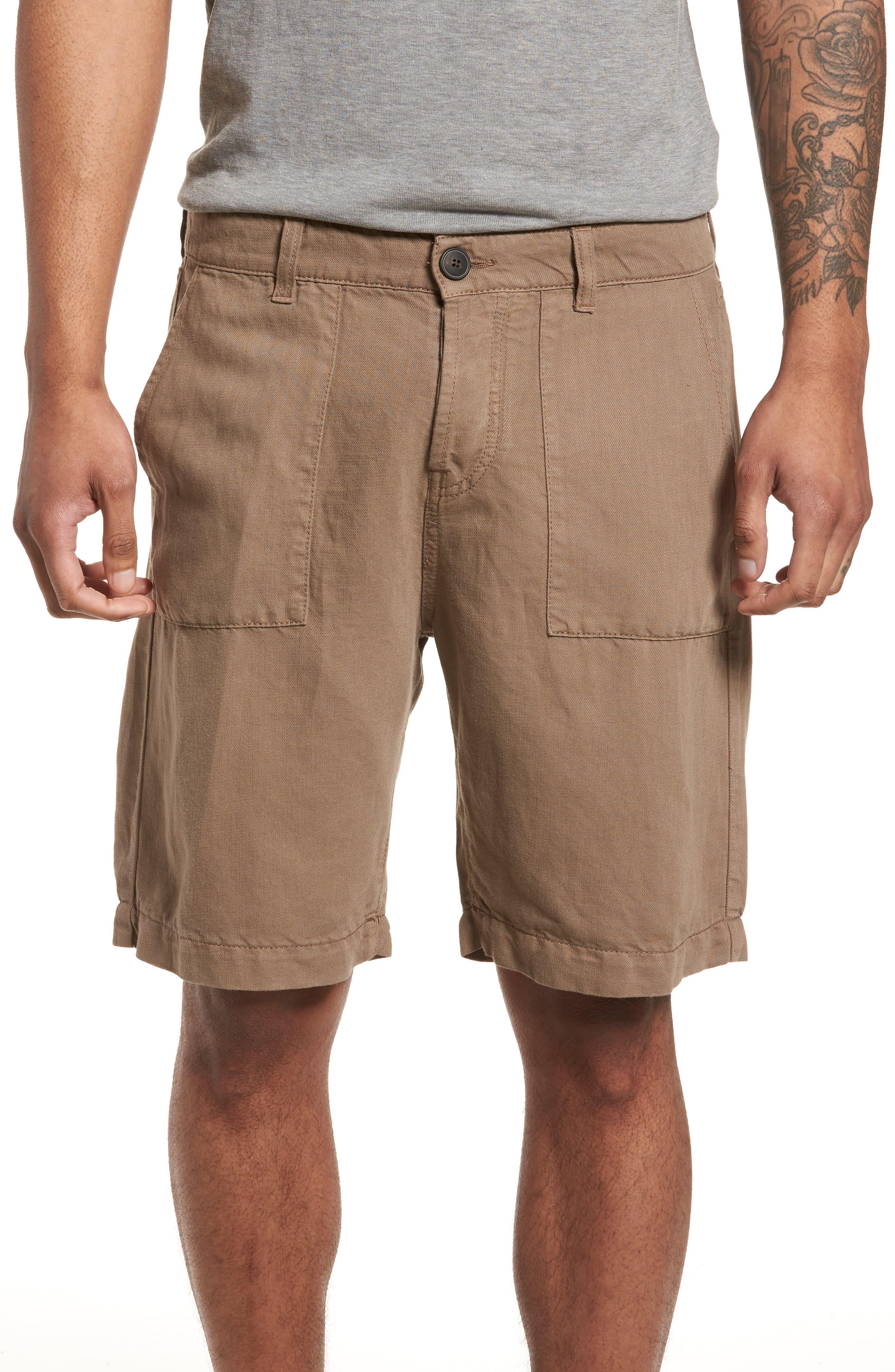 Fatique Bermuda Shorts,                         Main,                         color, Taupe