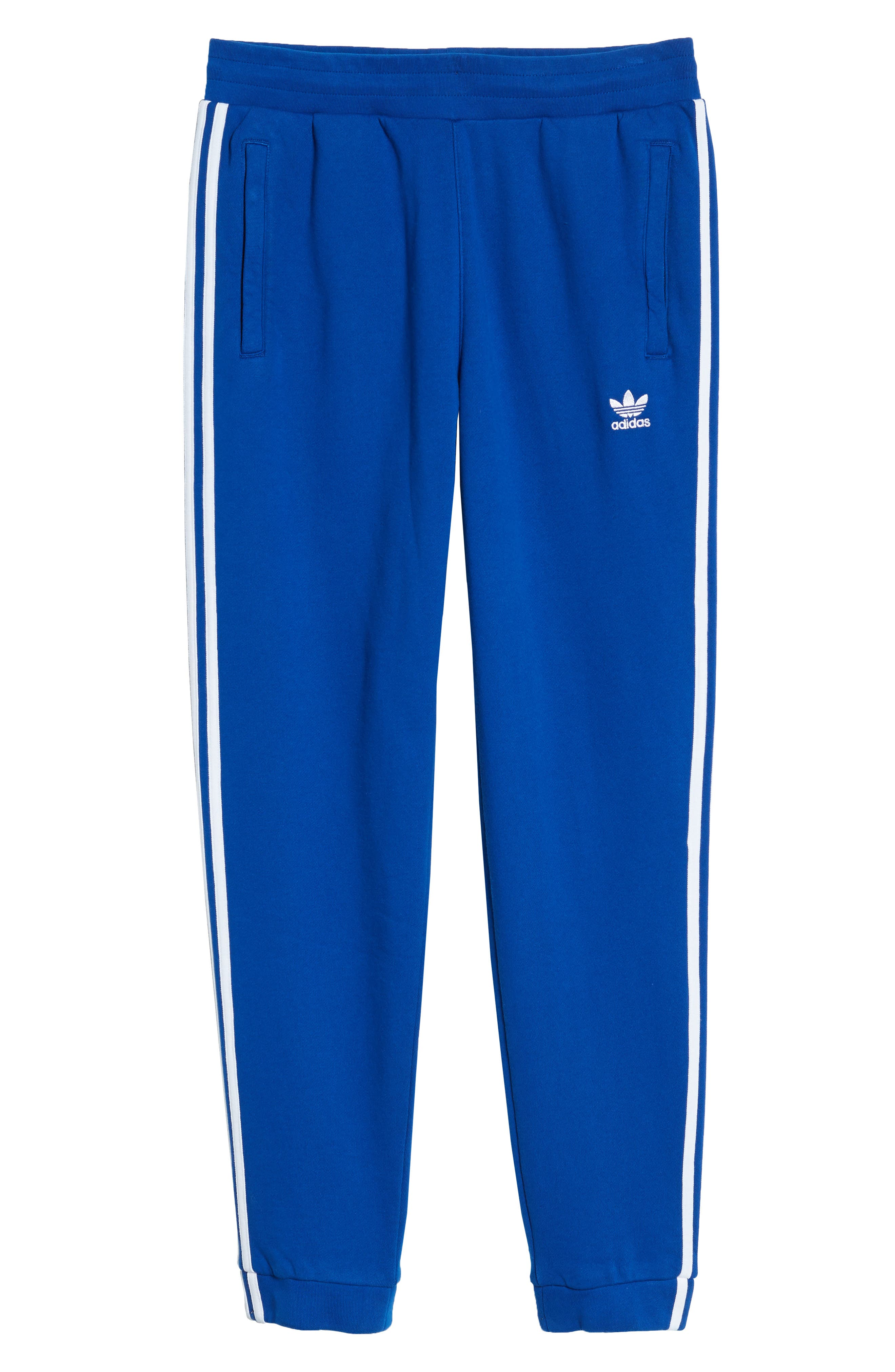 3-Stripes Sweatpants,                             Alternate thumbnail 6, color,                             Collegiate Royal