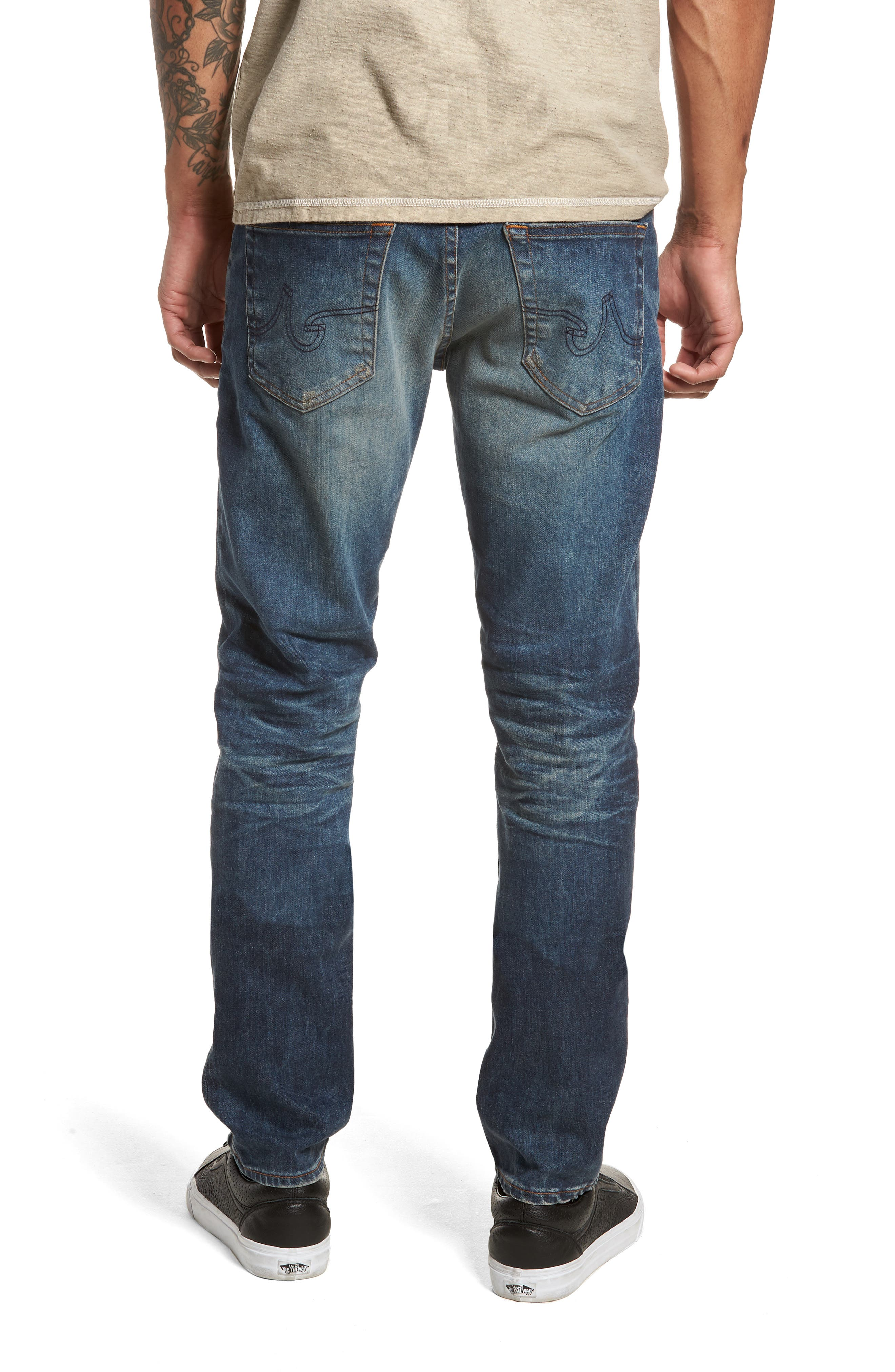 Dylan Slim Skinny Fit Jeans,                             Alternate thumbnail 2, color,                             12 Years River Veil
