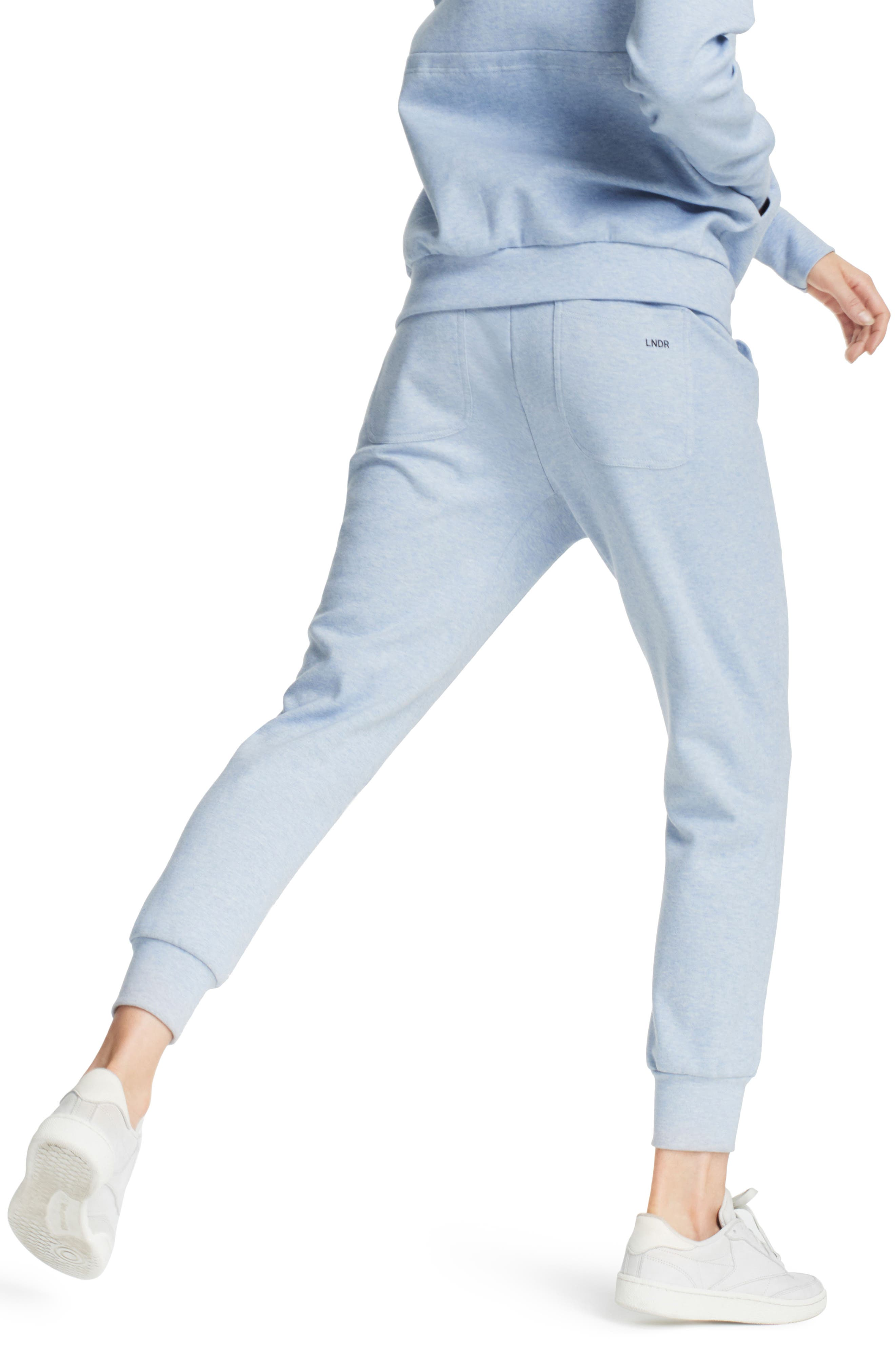 Synergy Track Pants,                             Alternate thumbnail 2, color,                             Light Blue