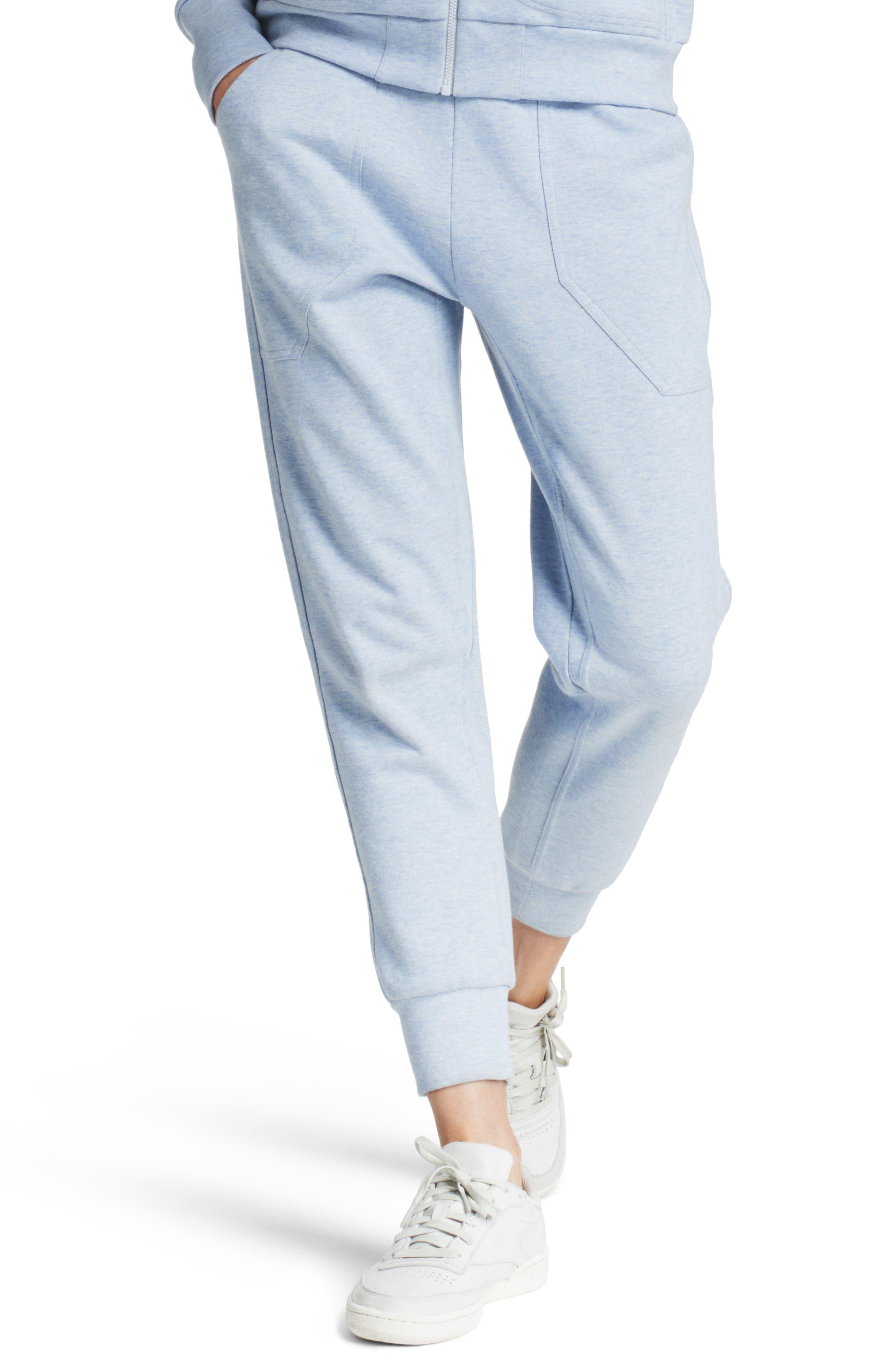 Synergy Track Pants,                         Main,                         color, Light Blue
