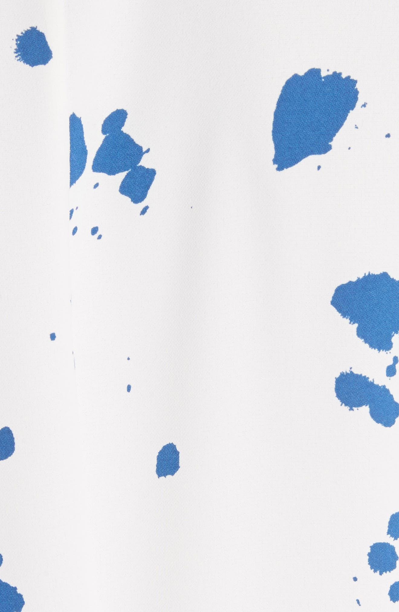 Siya Shirtdress,                             Alternate thumbnail 5, color,                             Cloud Multi
