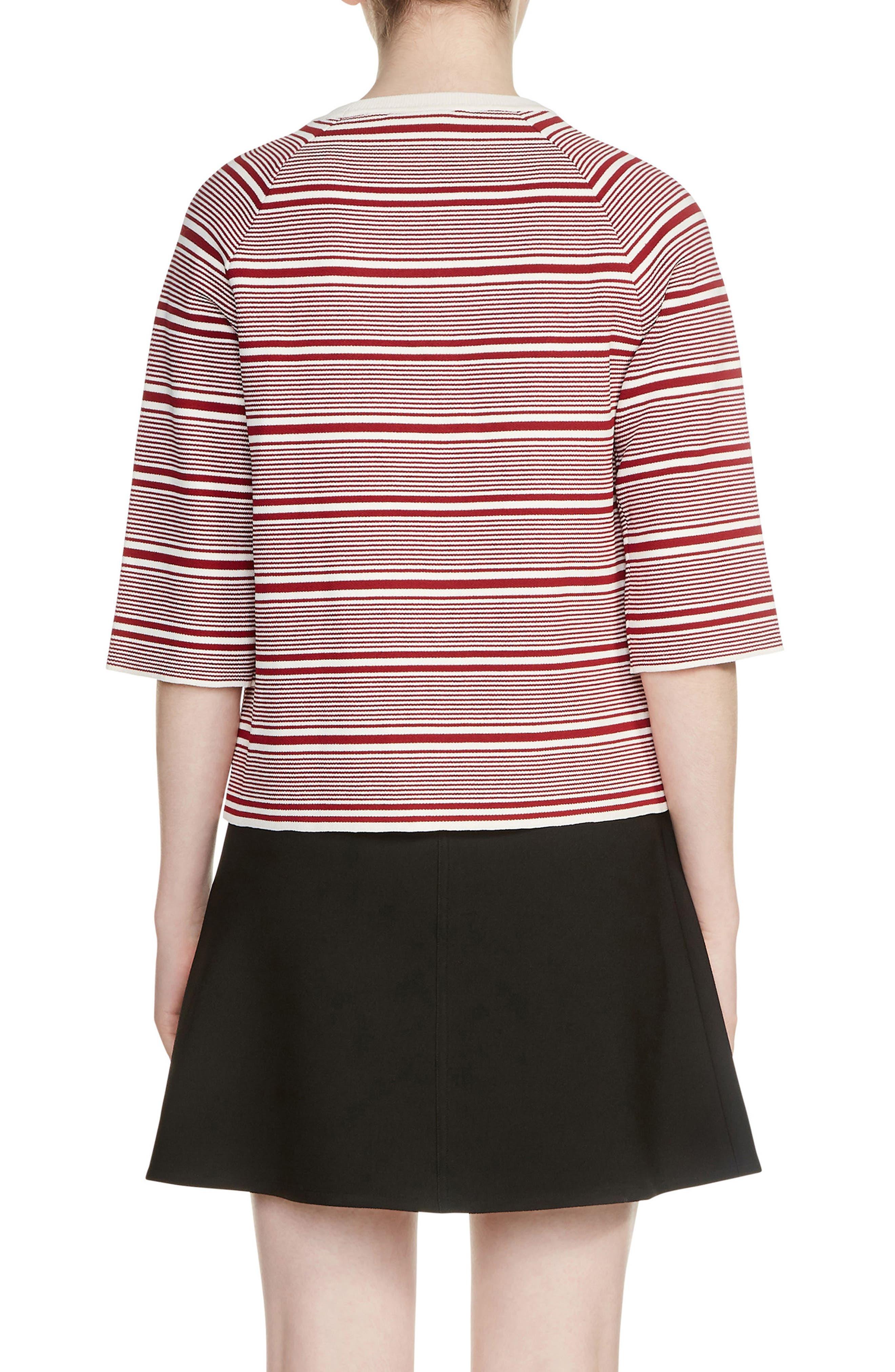 Marco Stripe Sweater,                             Alternate thumbnail 2, color,                             Stripe