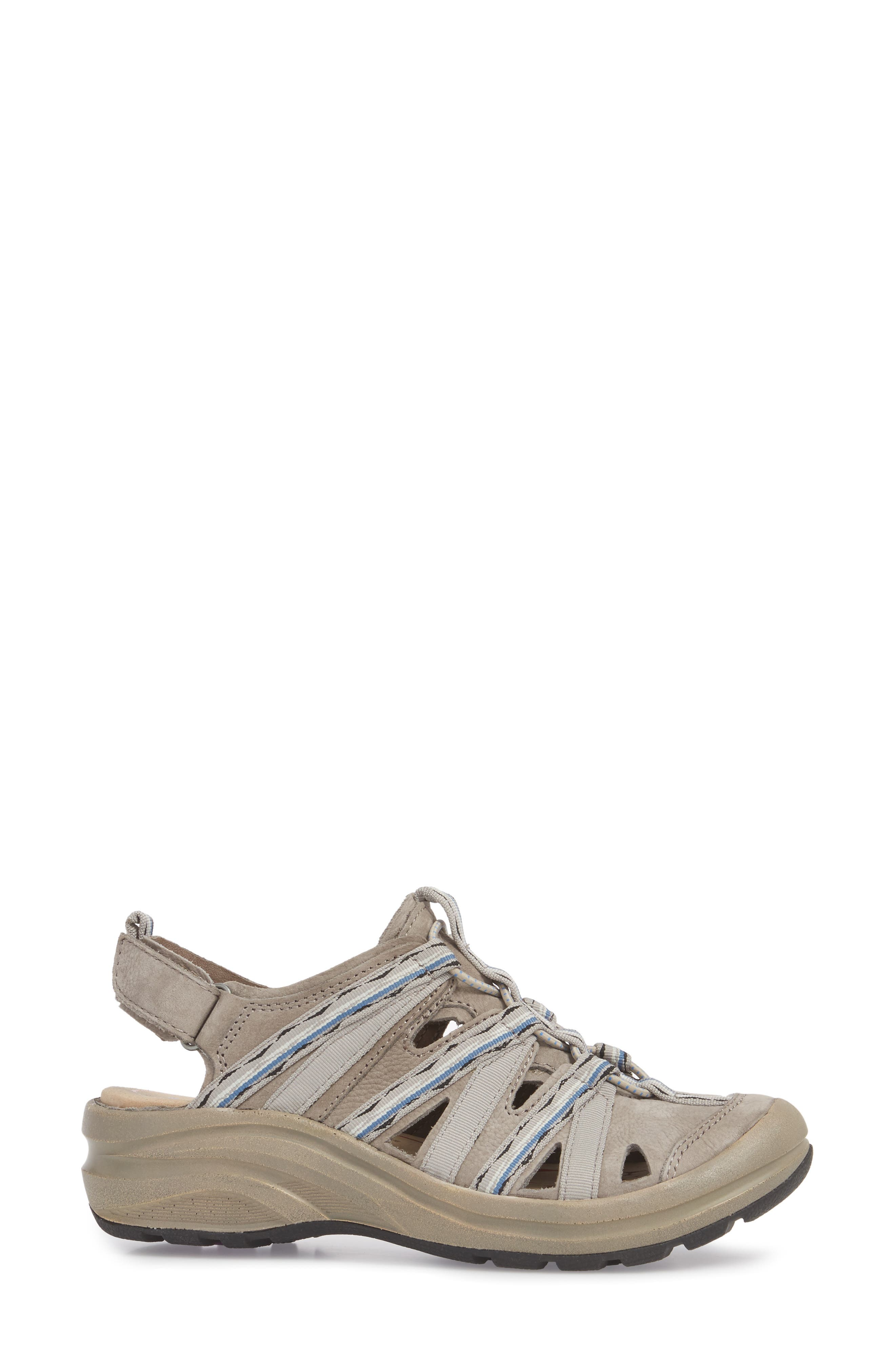 Malabar Sport Sandal,                             Alternate thumbnail 3, color,                             Paper Mache Leather