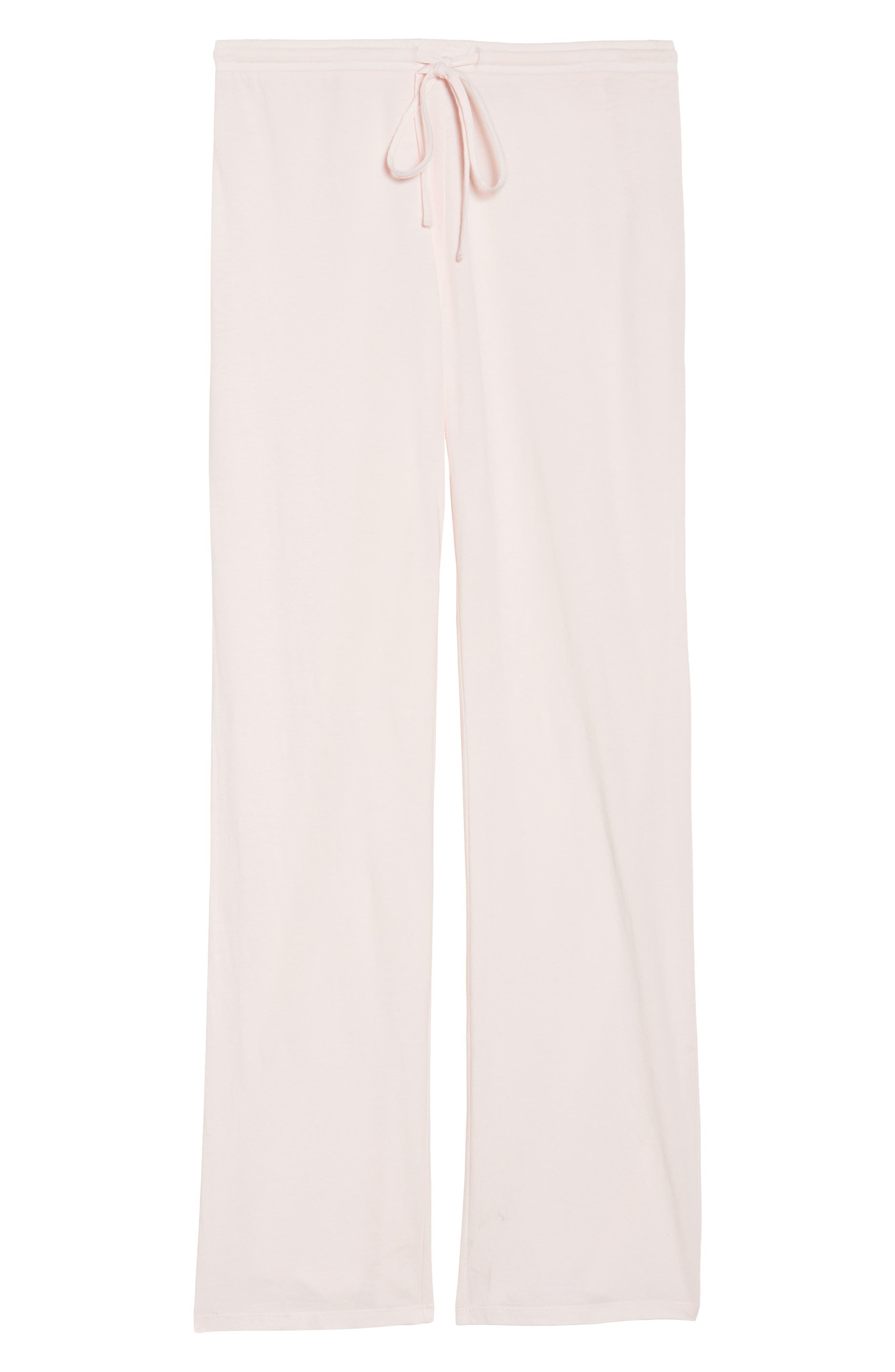 Breathe Lounge Pants,                             Alternate thumbnail 4, color,                             Pink Frosty