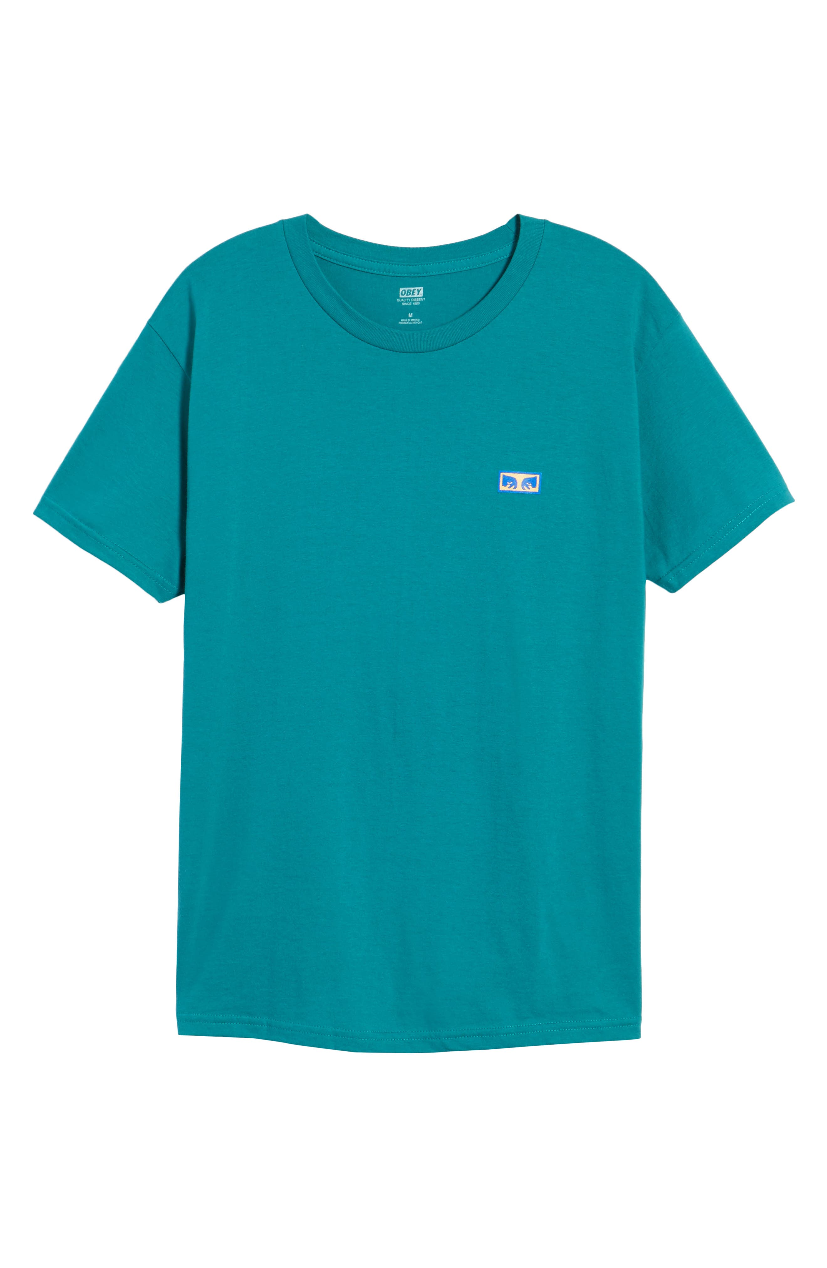 Flashback Graphic T-Shirt,                             Alternate thumbnail 6, color,                             Teal