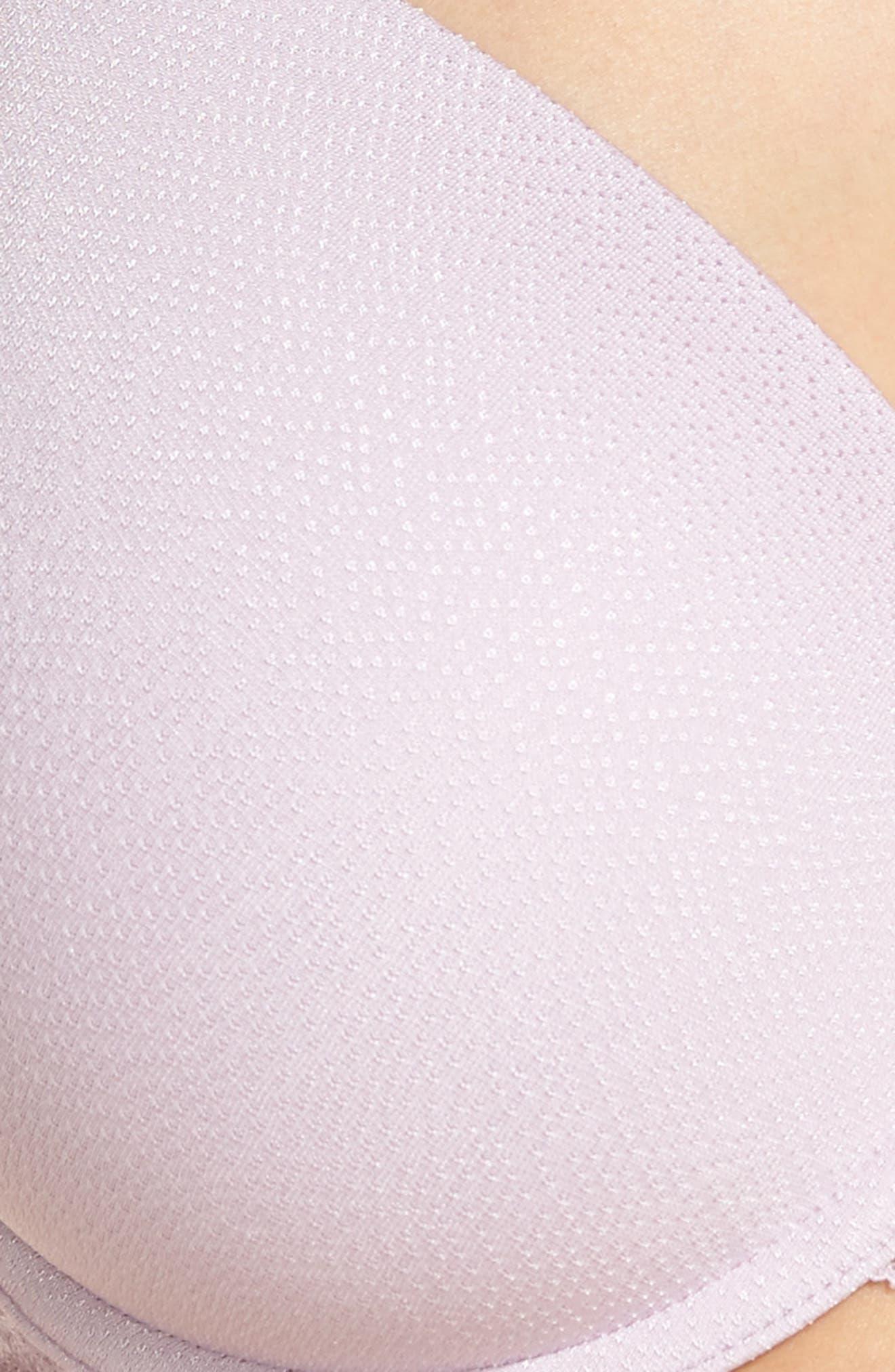 Top Tier Underwire T-Shirt Bra,                             Alternate thumbnail 10, color,                             Lavender Frost
